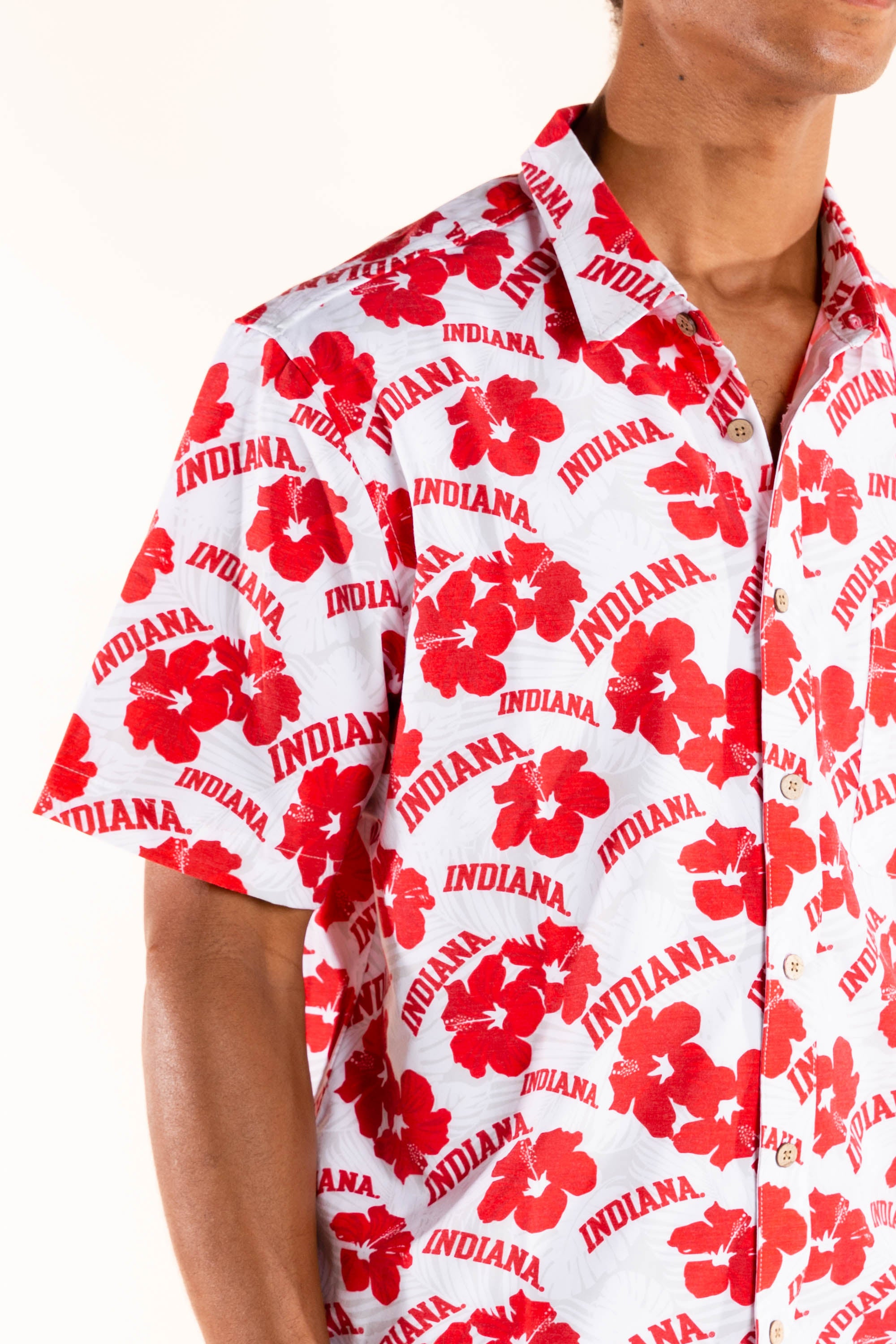Indiana floral hawaiian shirt