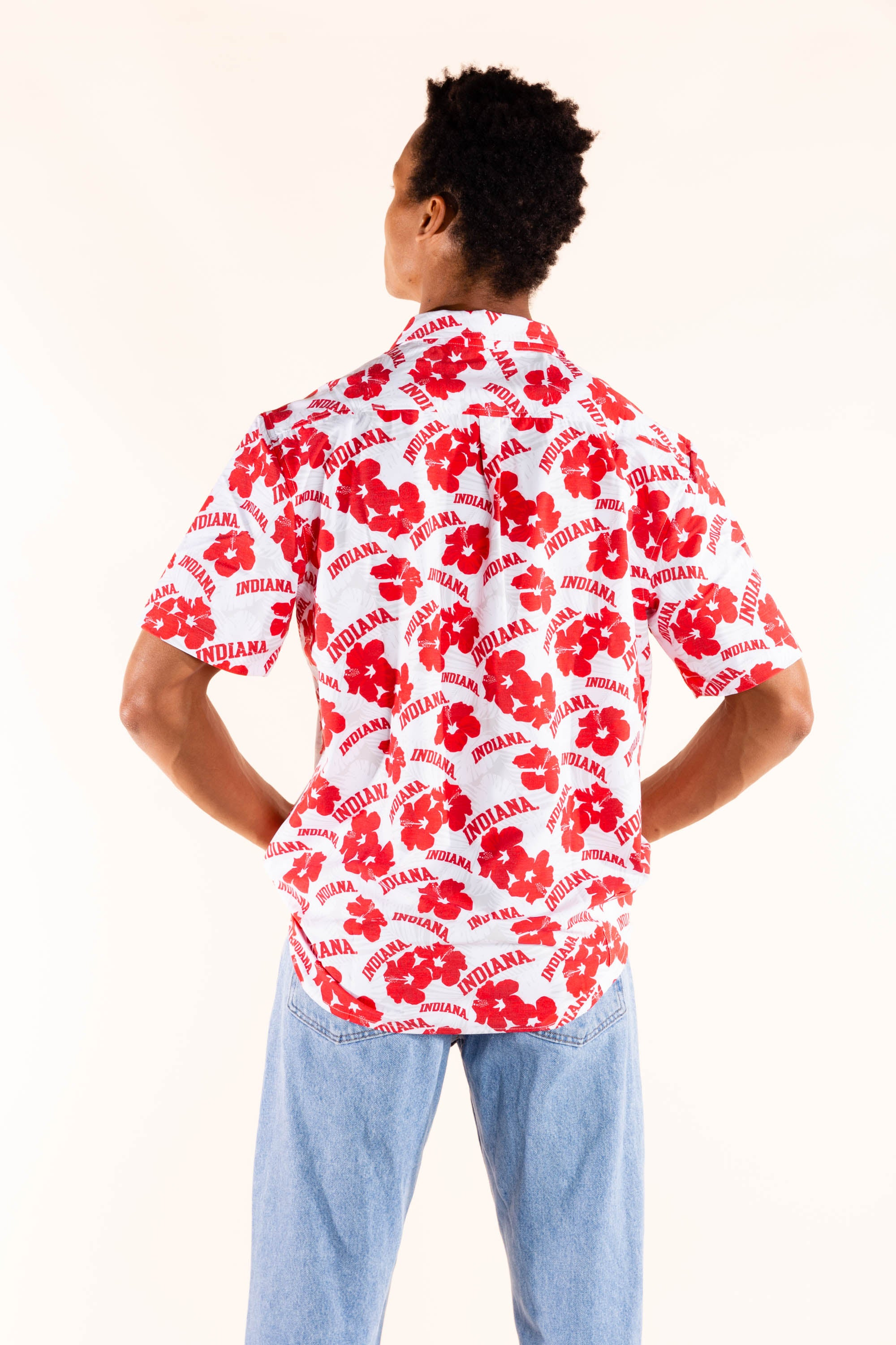 Men's hawaiian shirt indiana