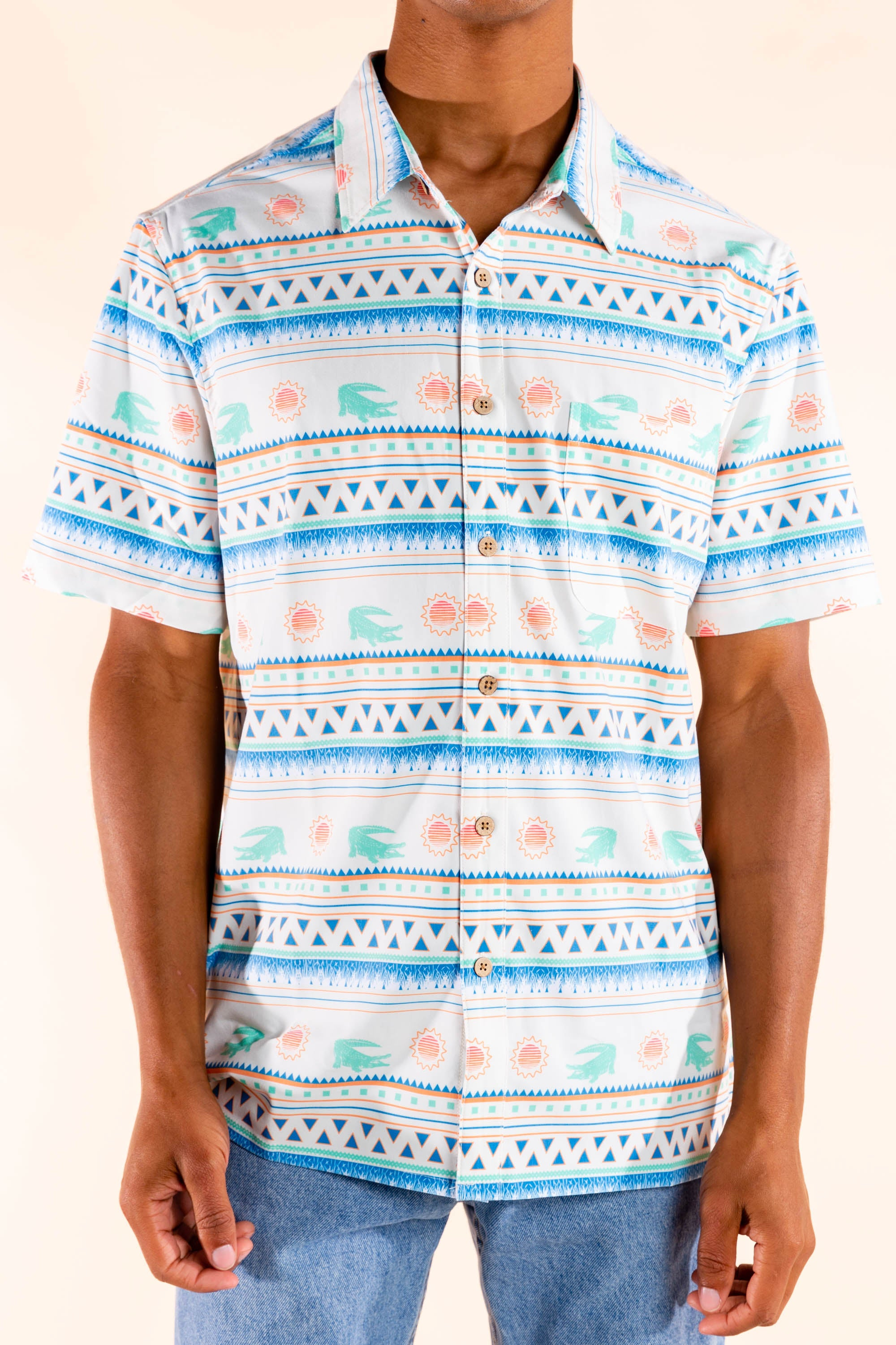 Florida hawaiian men's shirt