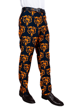 Chicago Bears Blue and Orange Football Pants