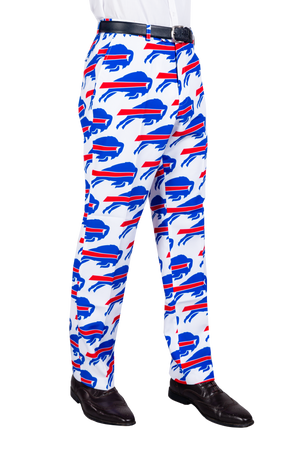 Buffalo Bills Red, White, and Blue Football Pants