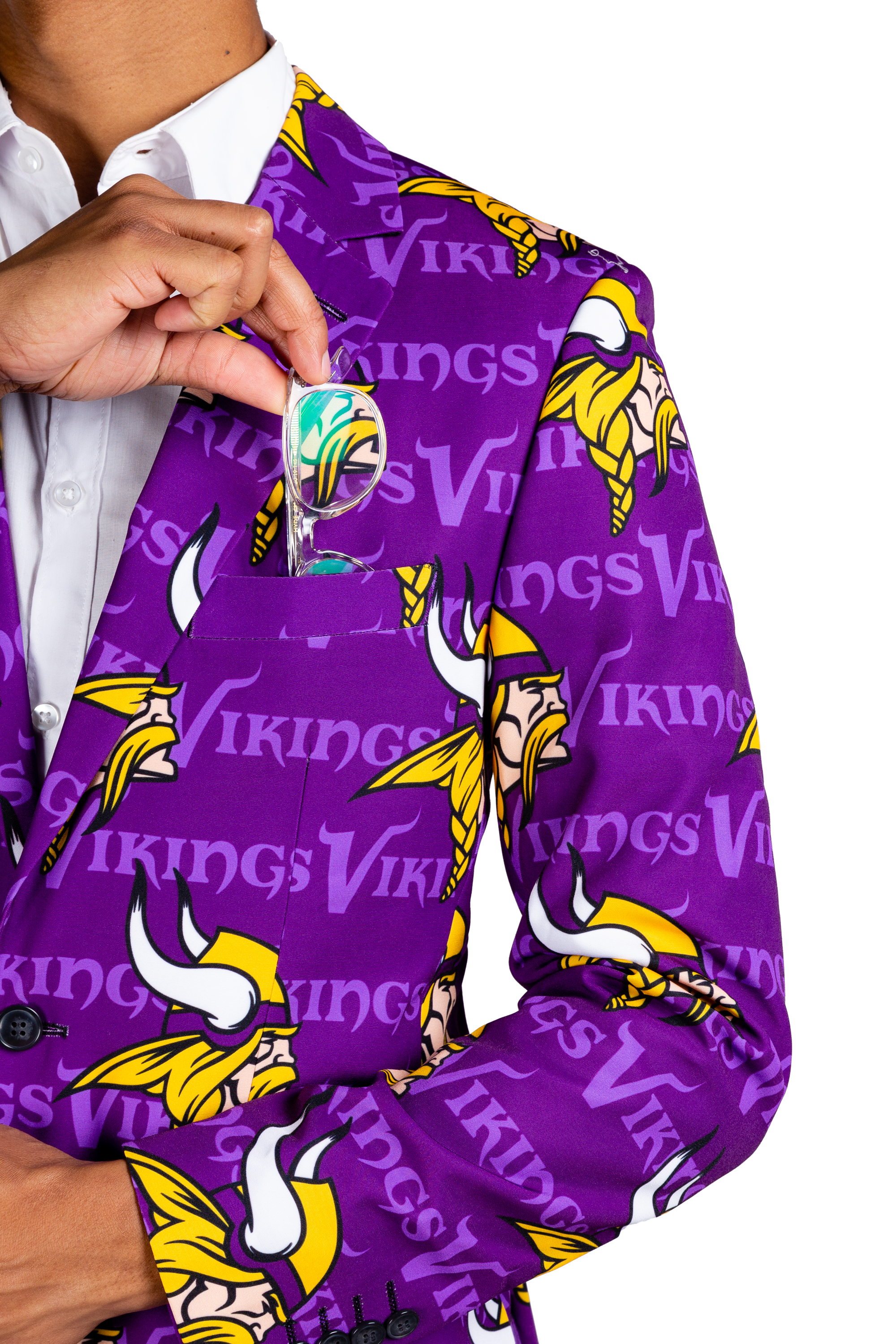 Purple vikings gameday blazer