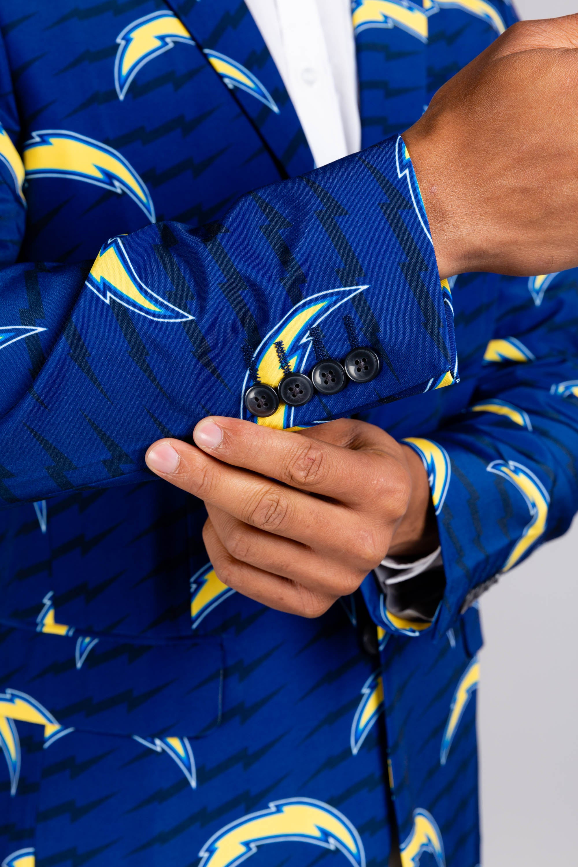 San diego chargers printed blazer