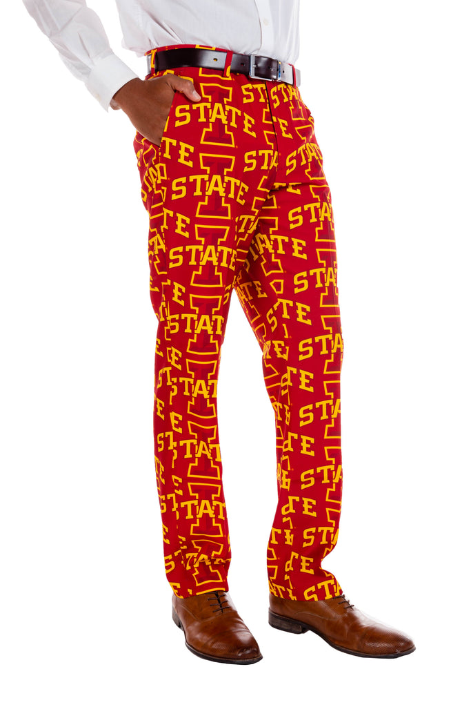 Iowa game day pants