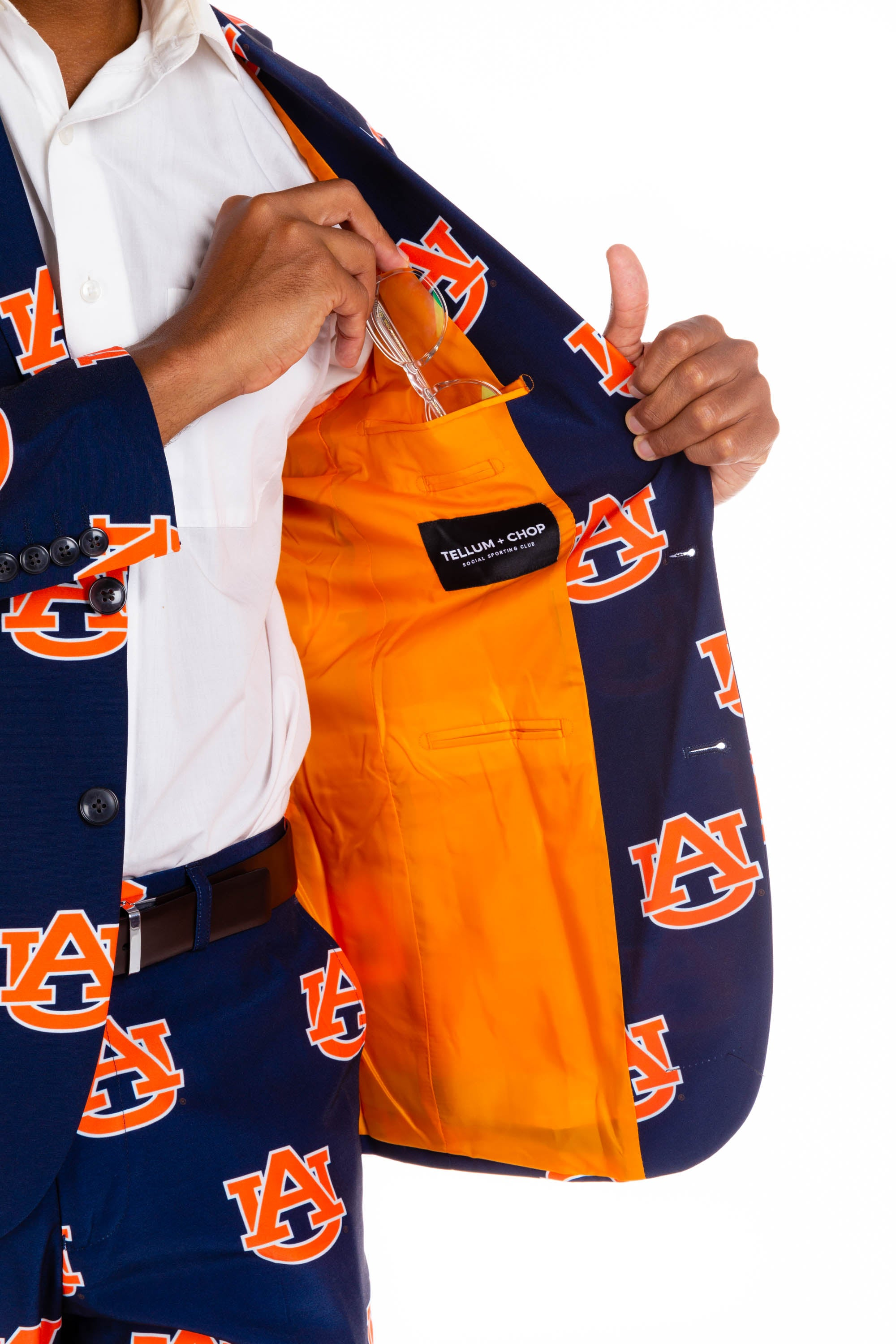 Auburn University Gameday Blazer Interior Pocket