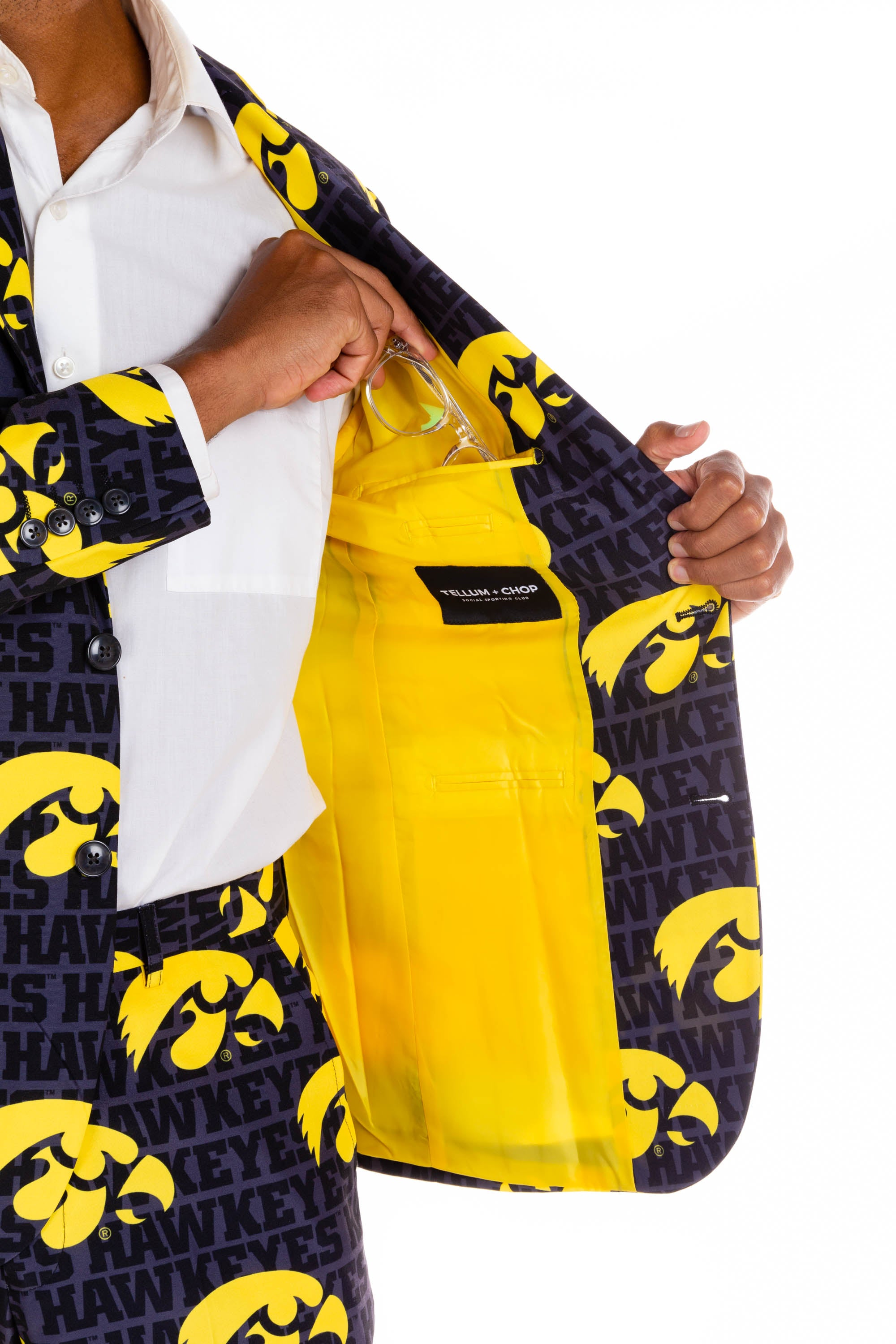 University of Iowa Interior Pocket
