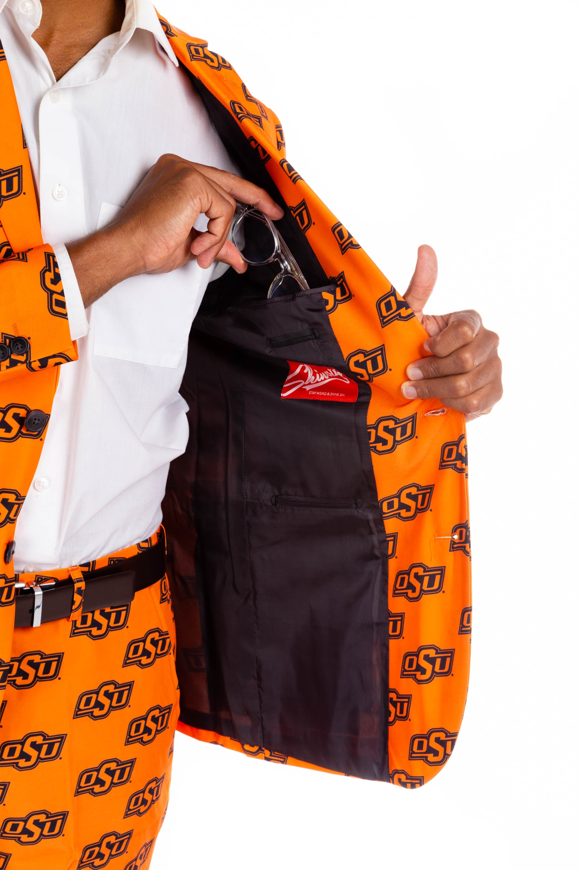 Oklahoma State University Gameday Blazer Interior Pocket