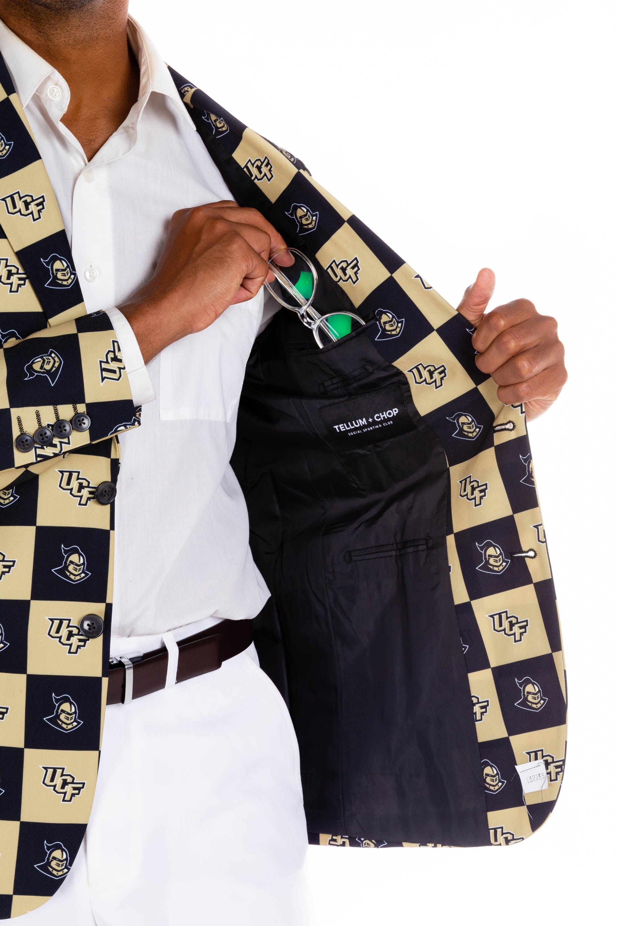 University of Central Florida Gameday Blazer Interior Pocket