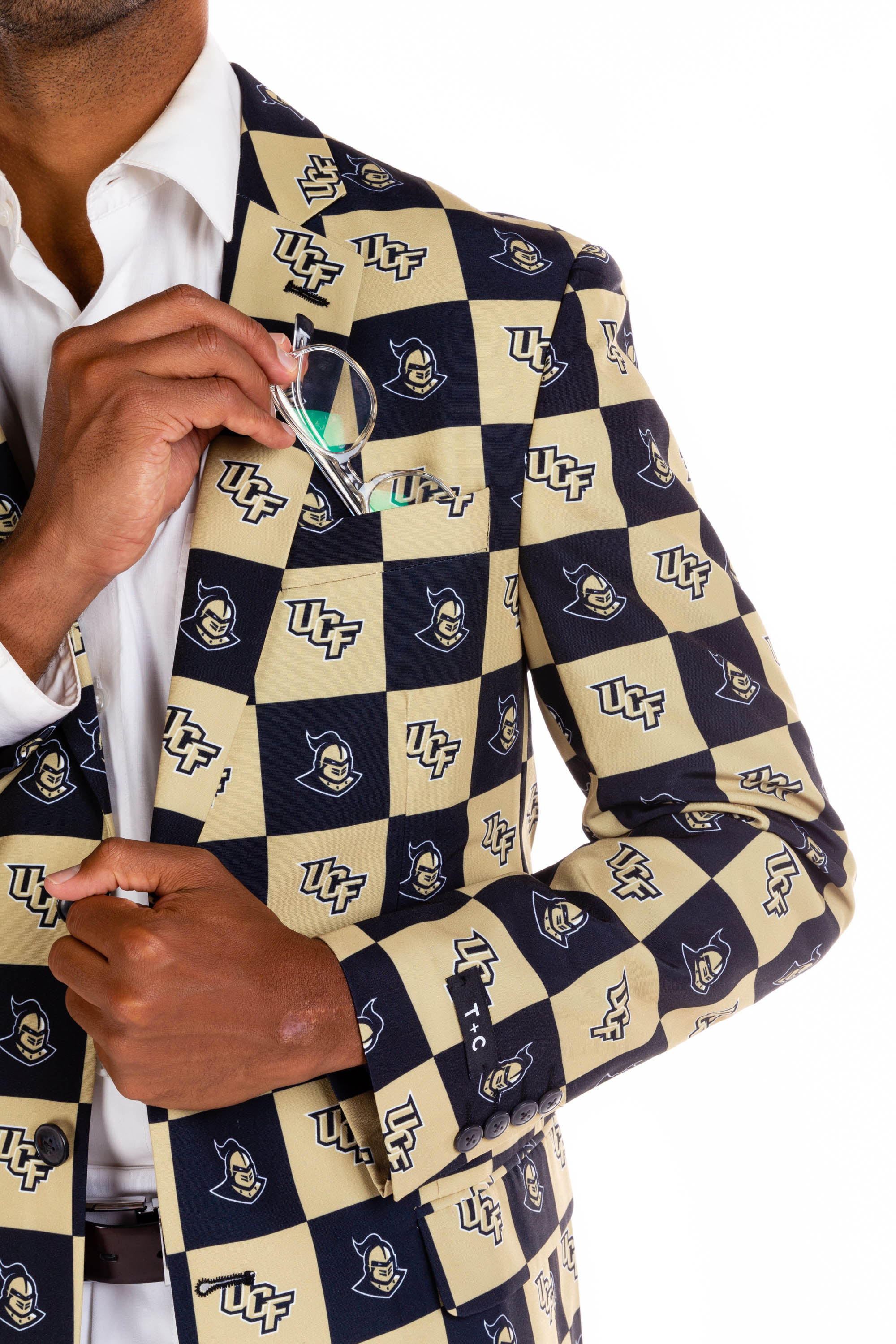 University of Central Florida Blazer Detail