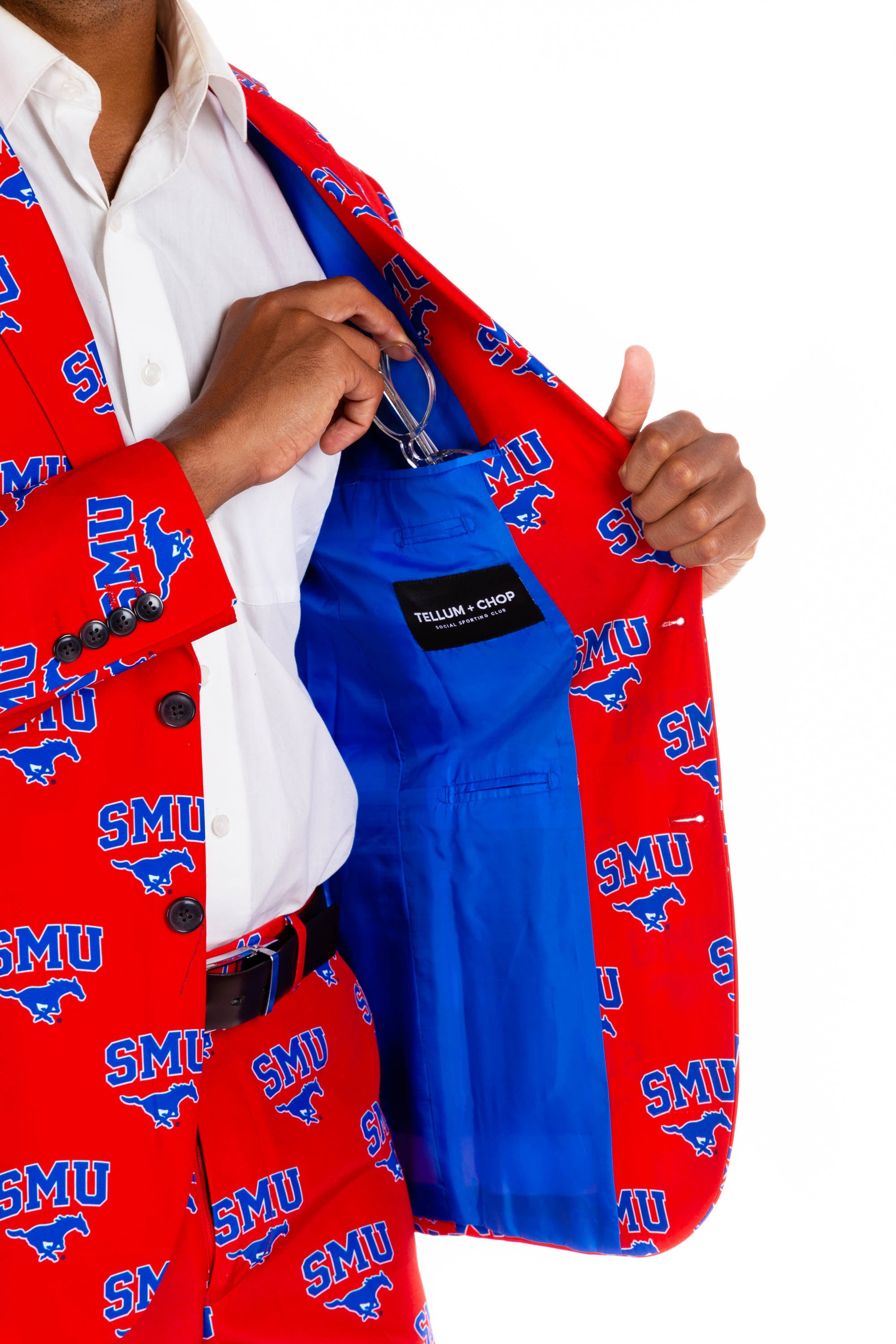 Southern Methodist University Blazer Interior Pocket