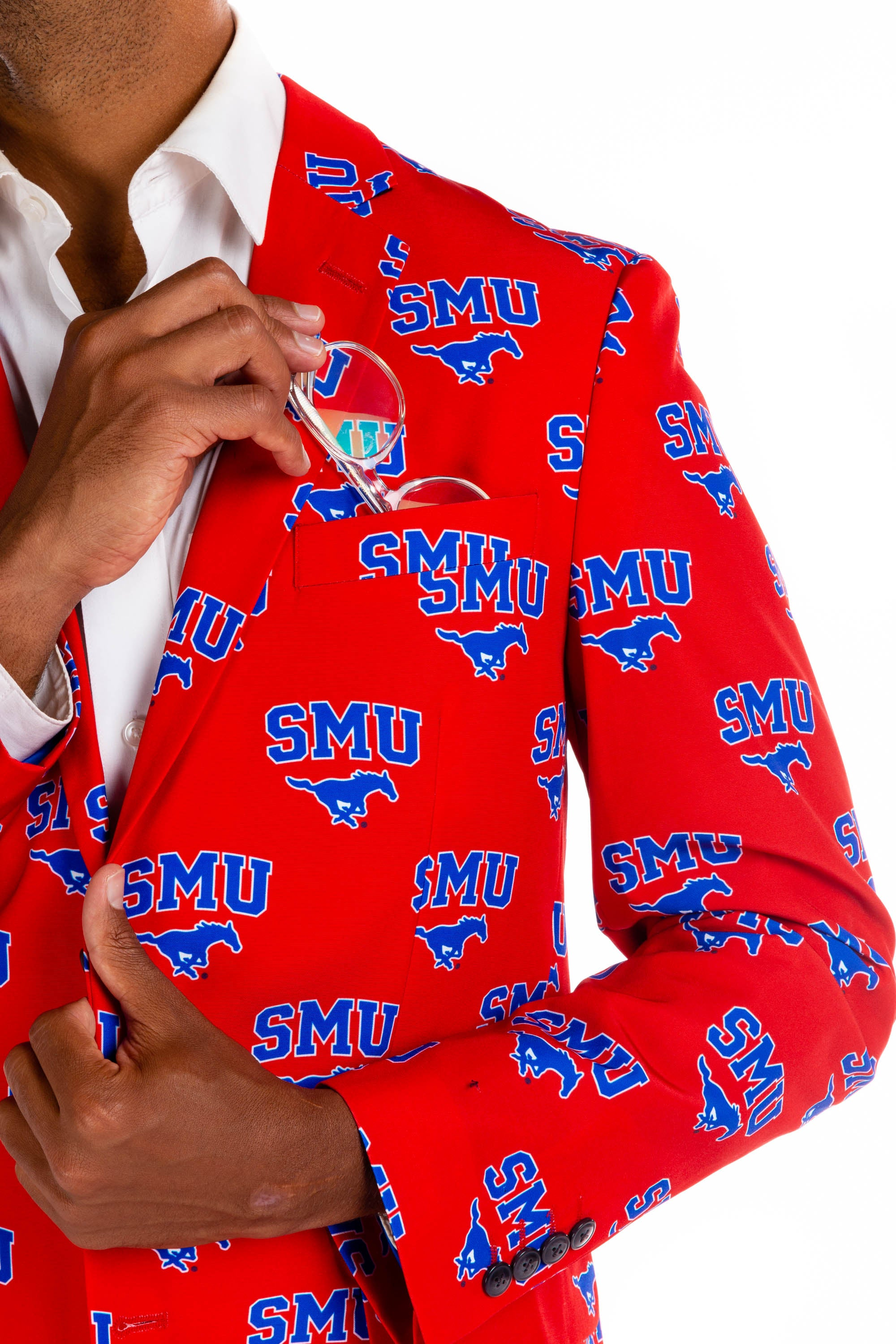 Southern Methodist University Blazer Detail