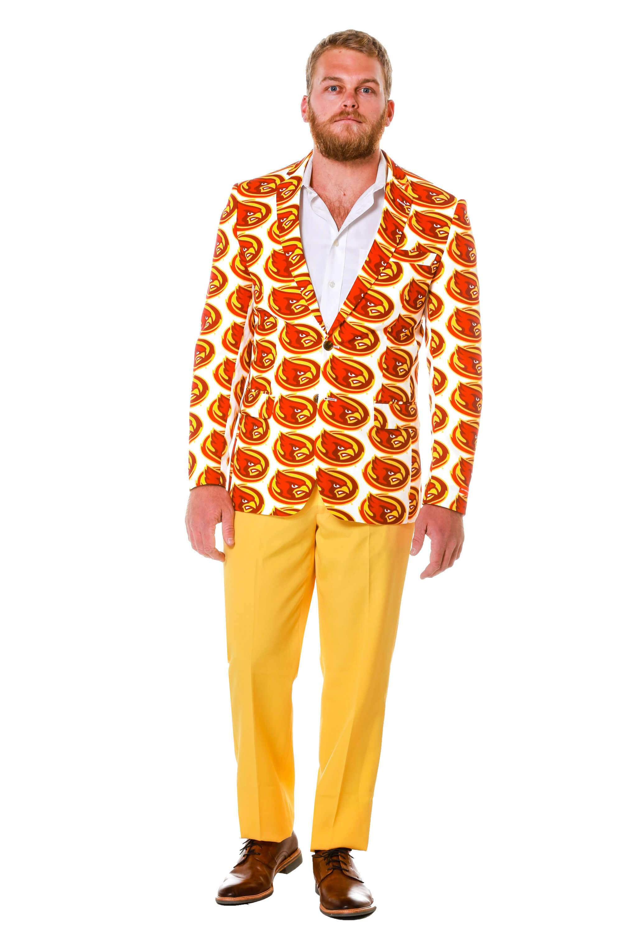 mens party blazer for Iowa State University