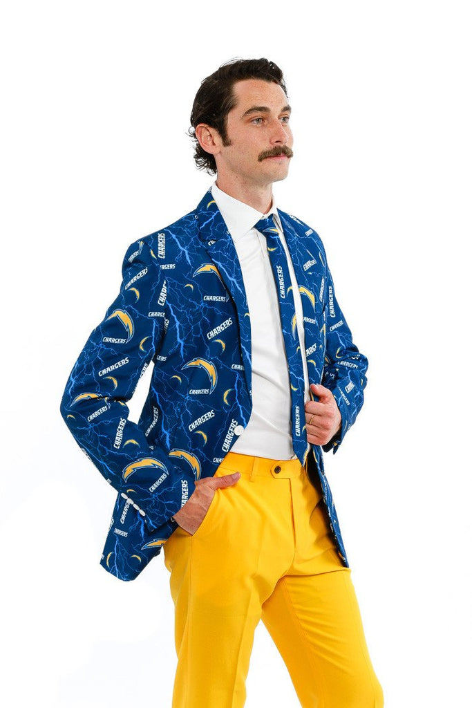 Los Angeles Chargers Suit Jacket