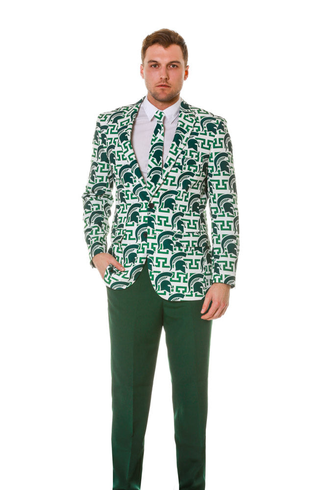 Michigan State mens party blazer