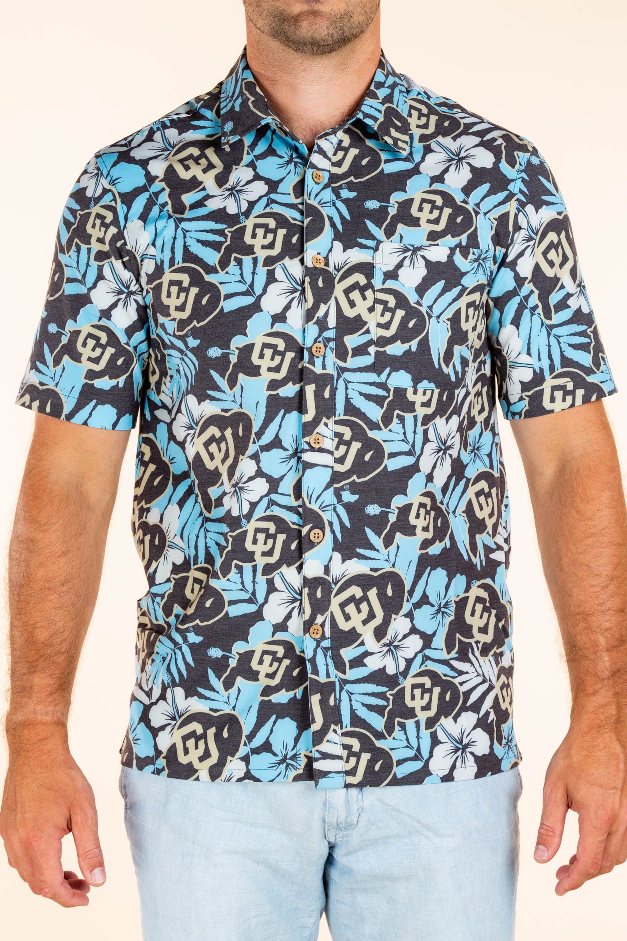 University of Colorado Hawaiian Party Shirt