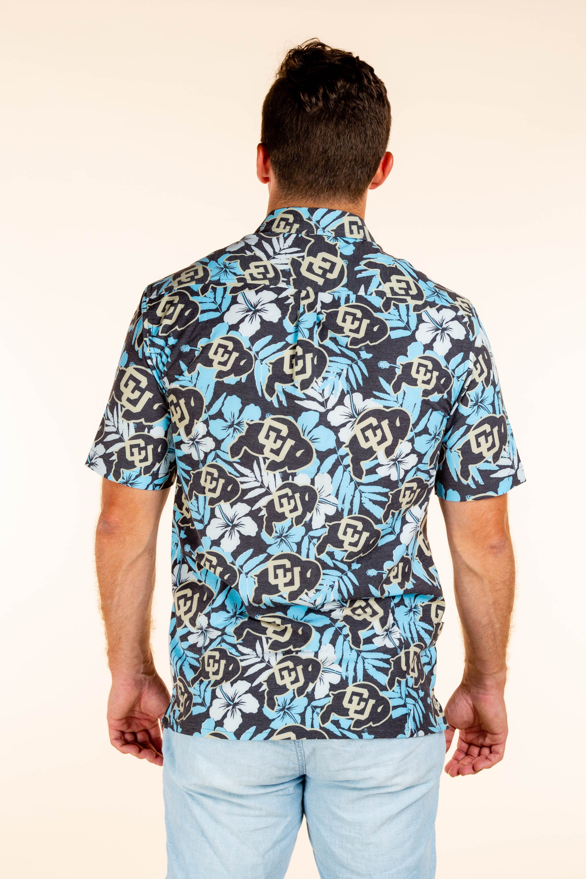 Men's University of Colorado Hawaiian Shirt