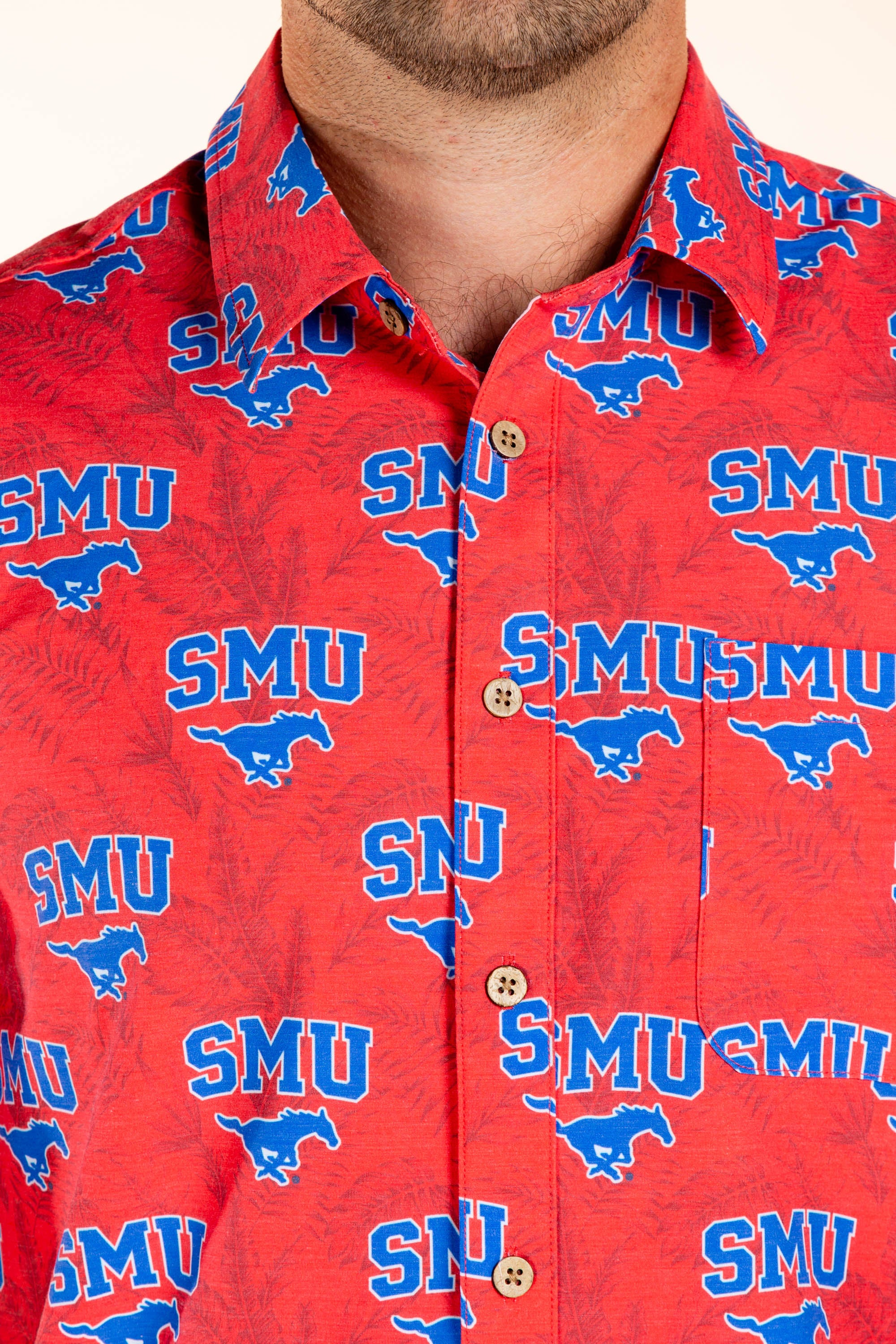 Southern Michigan University Button Up Game Day Shirt
