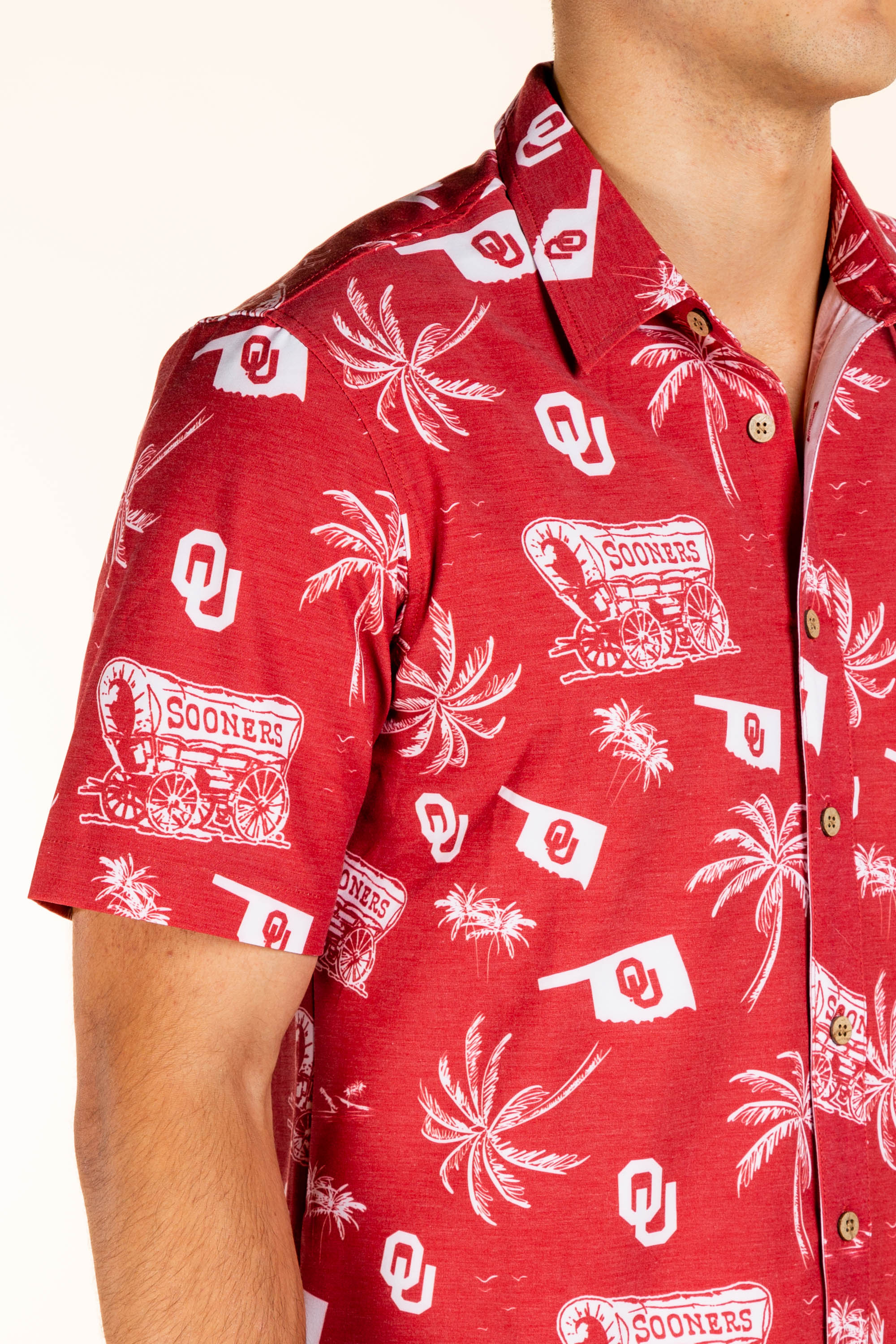 Oklahoma men's hawaiian