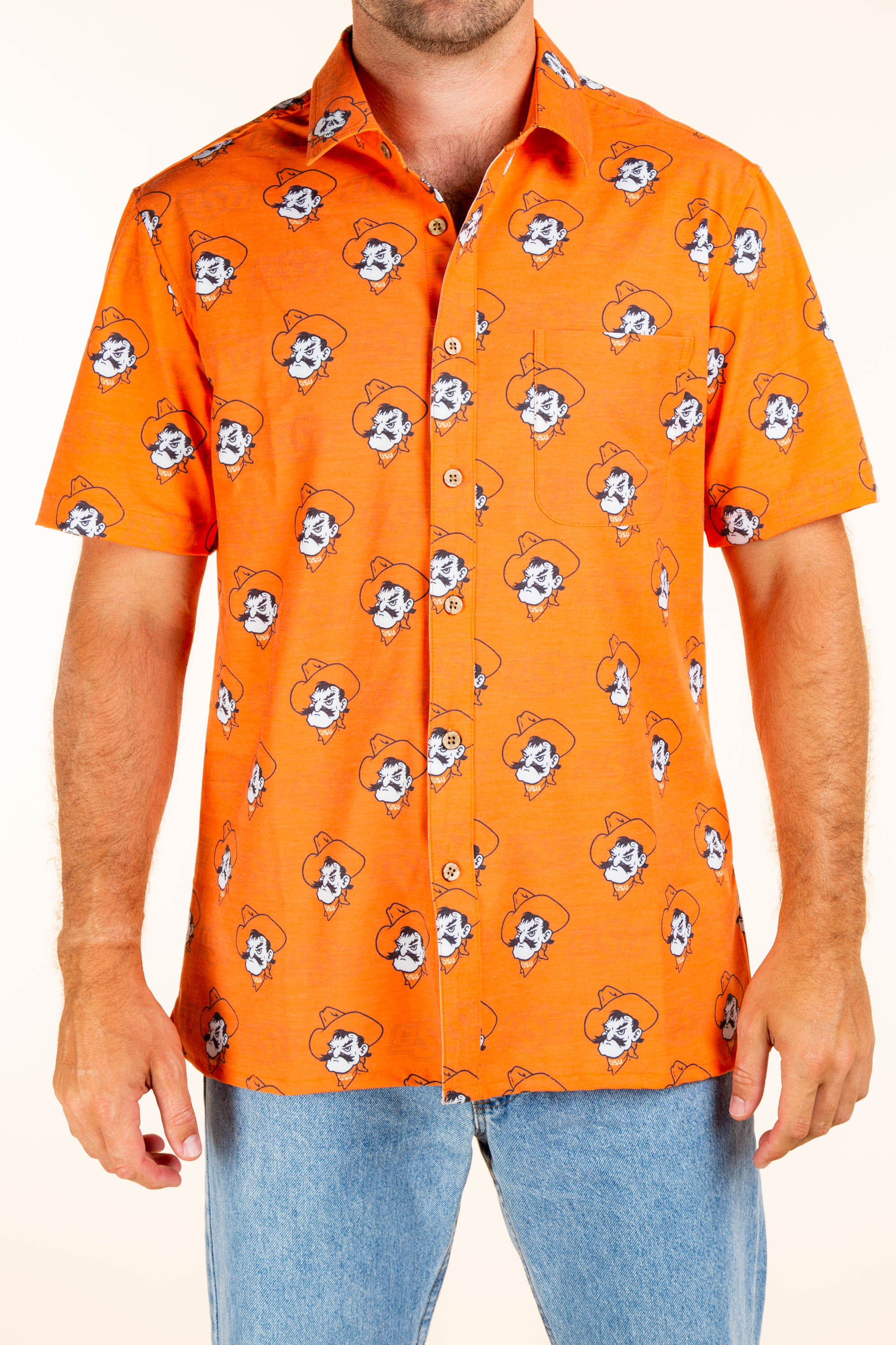 pistol pete men's hawaiian