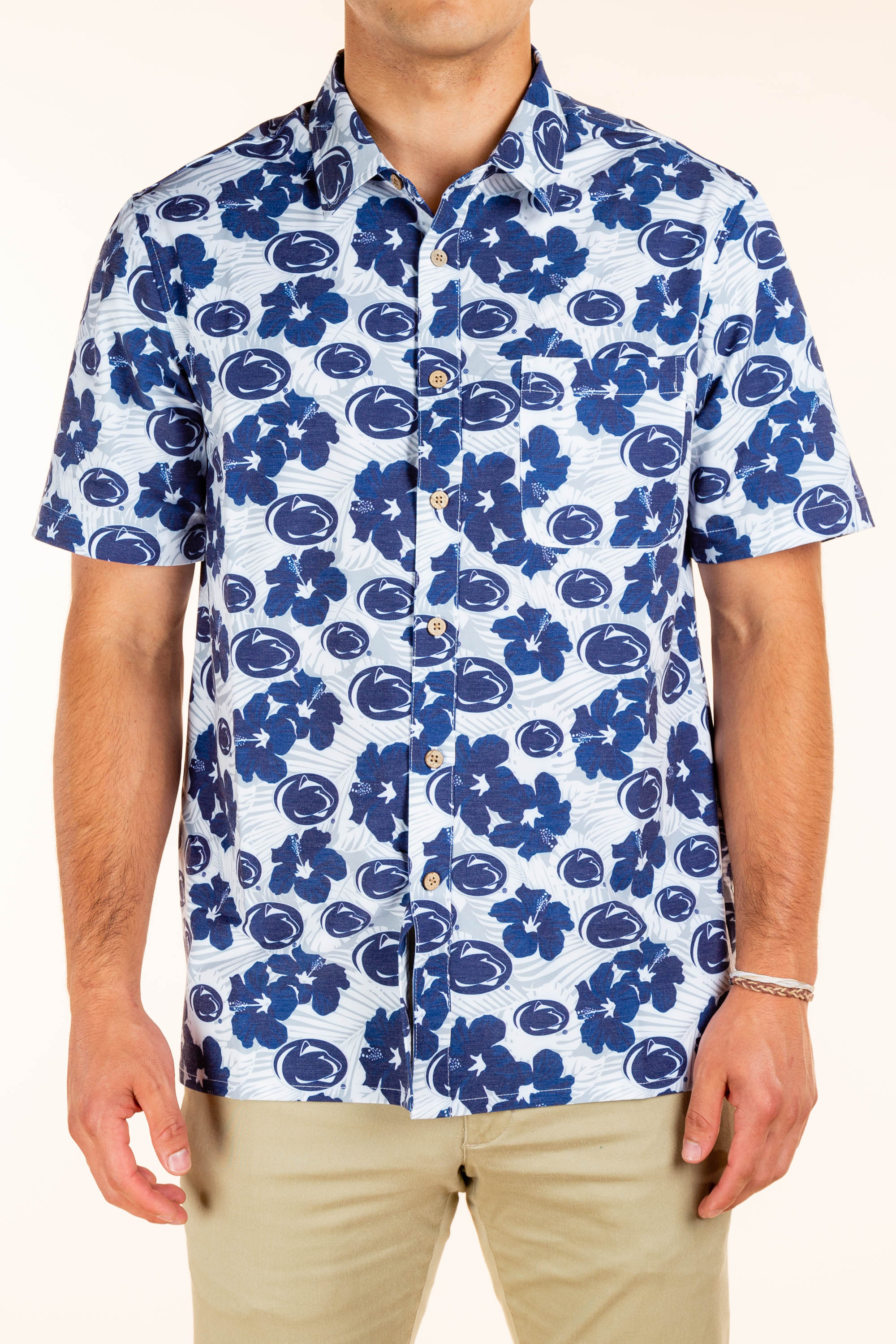Men's Penn State Button Up Shirt