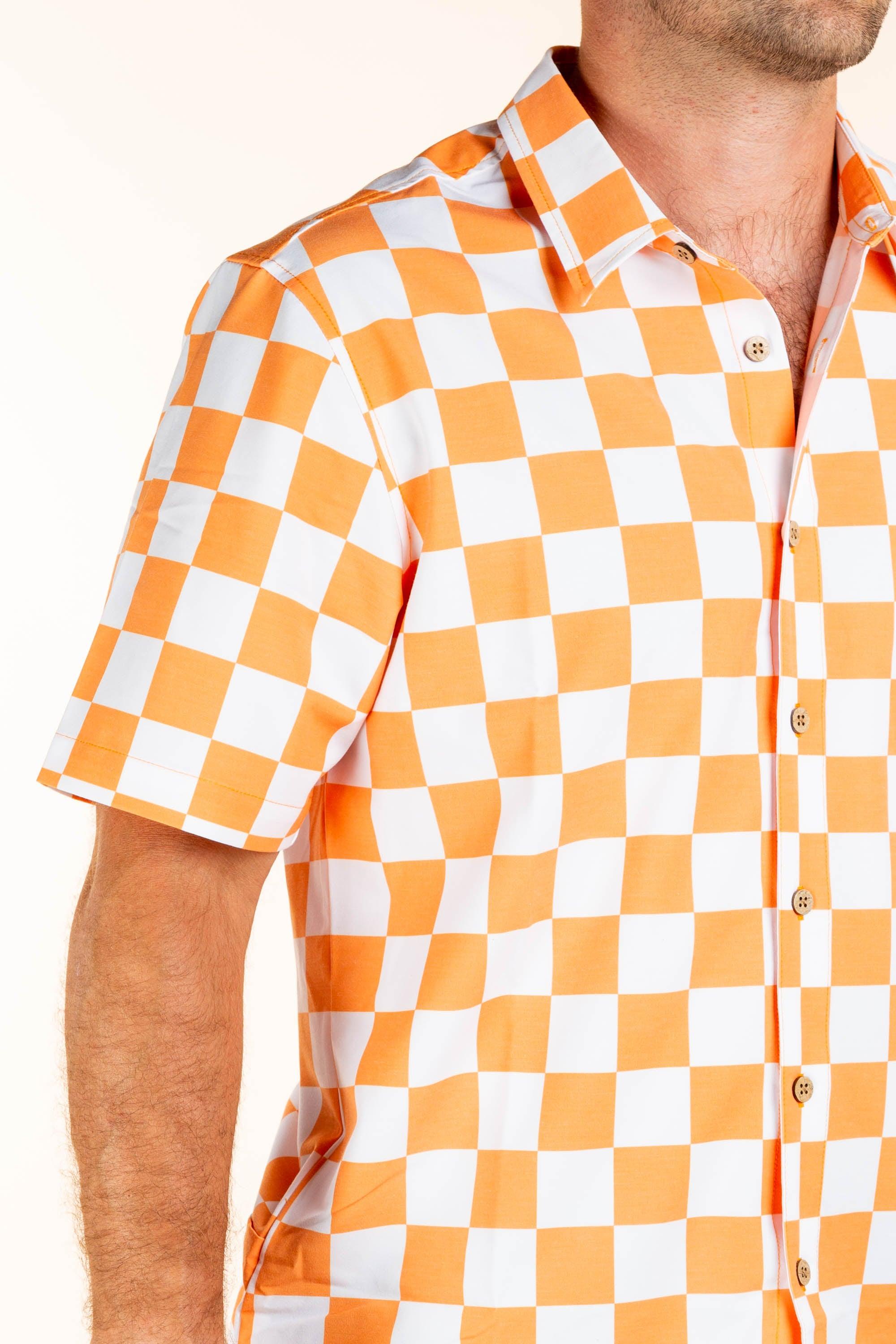 University of Tennessee Checker Print Tailgating Shirt