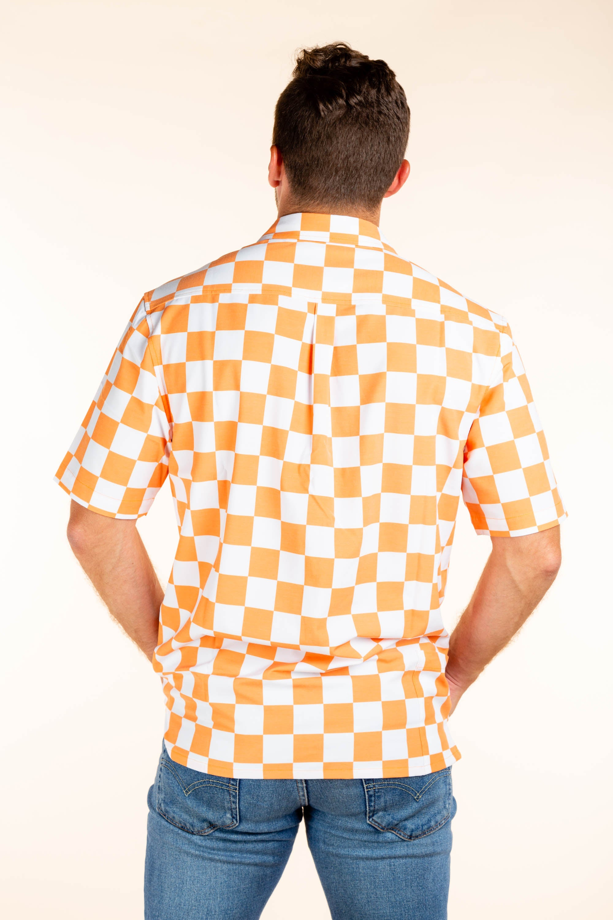 University of Tennessee Checkered Tailgating Shirt