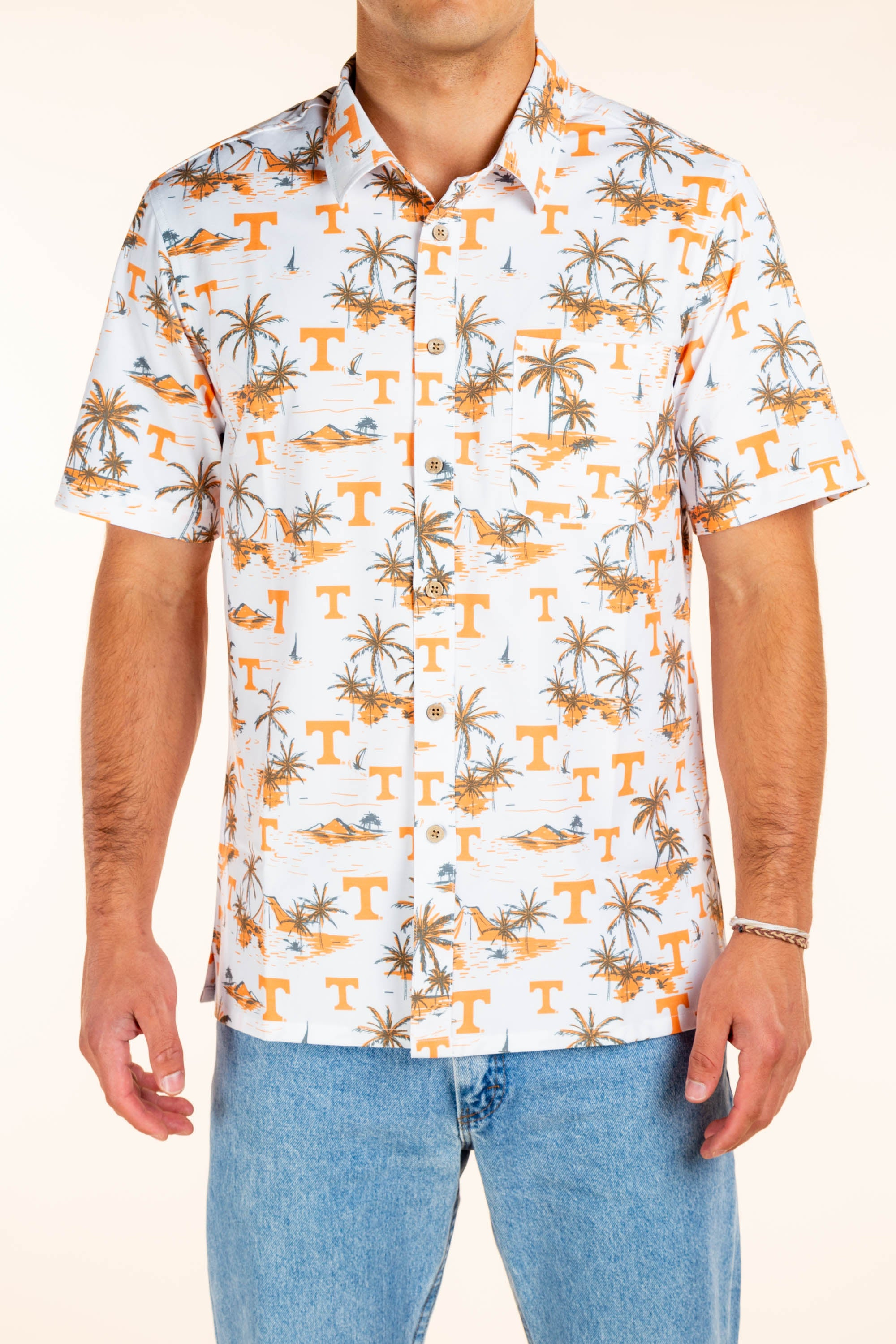 University of Tennessee Tailgating Button Up Shirt