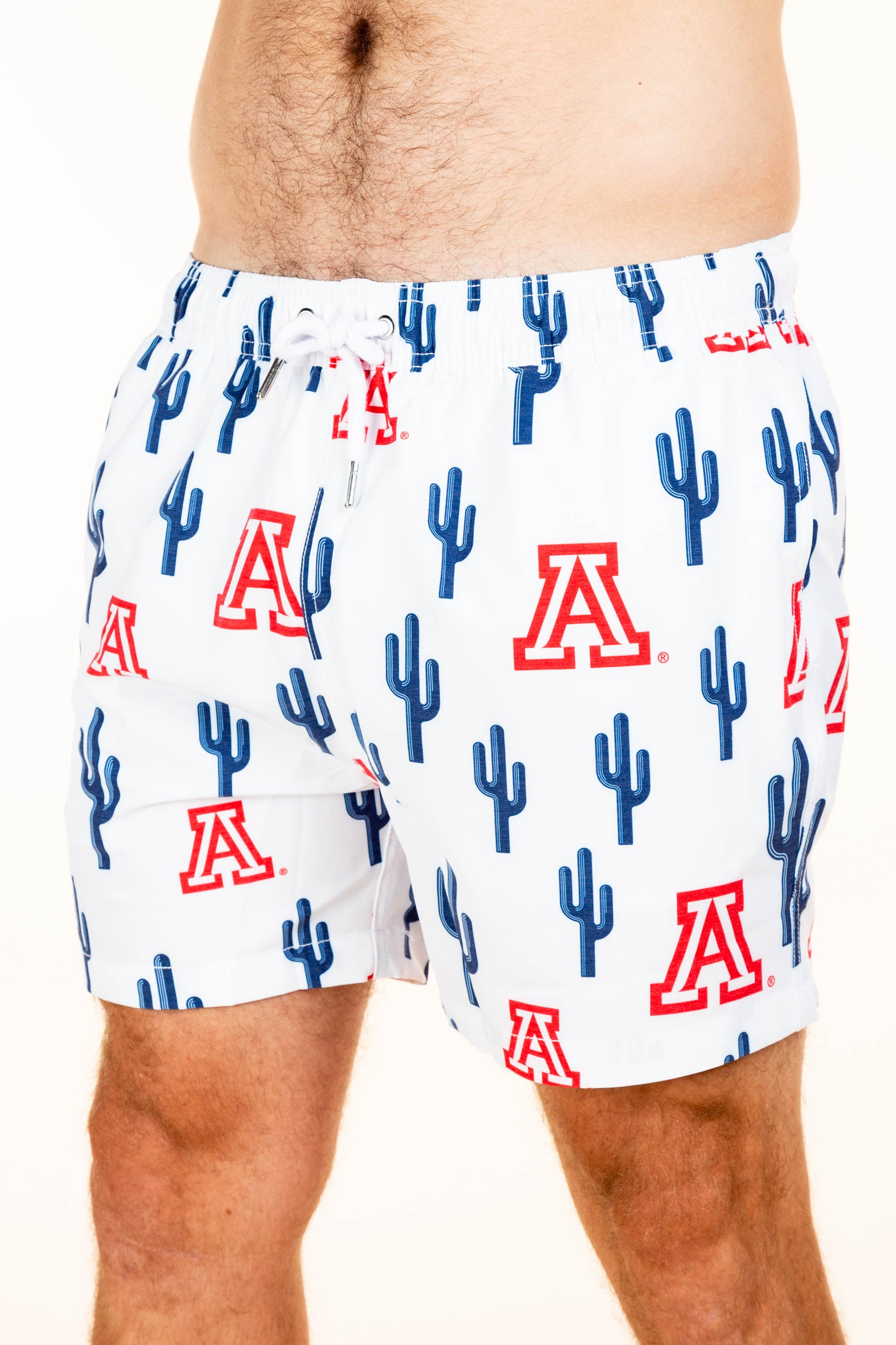 University of Arizona Cactus swim trunks