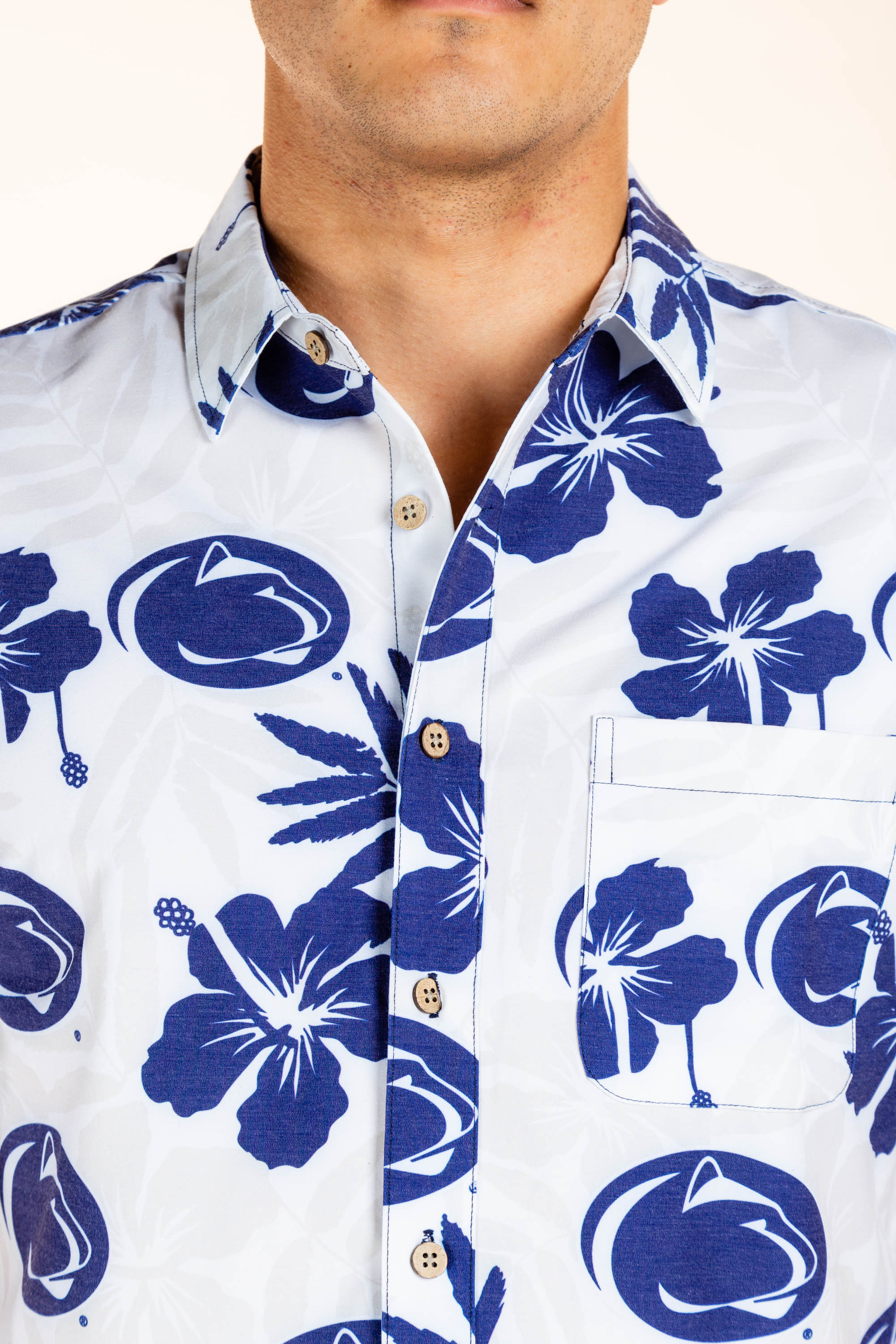 Men's Penn State Hawaiian shirt