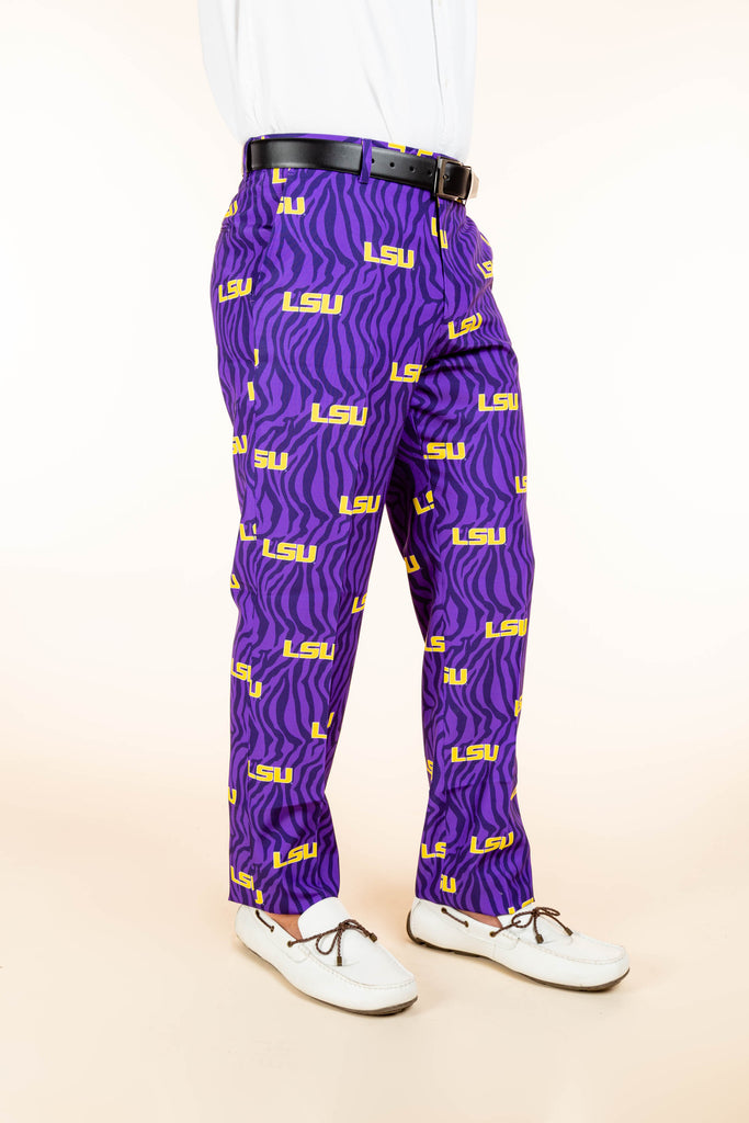 LSU tigers gameday pants