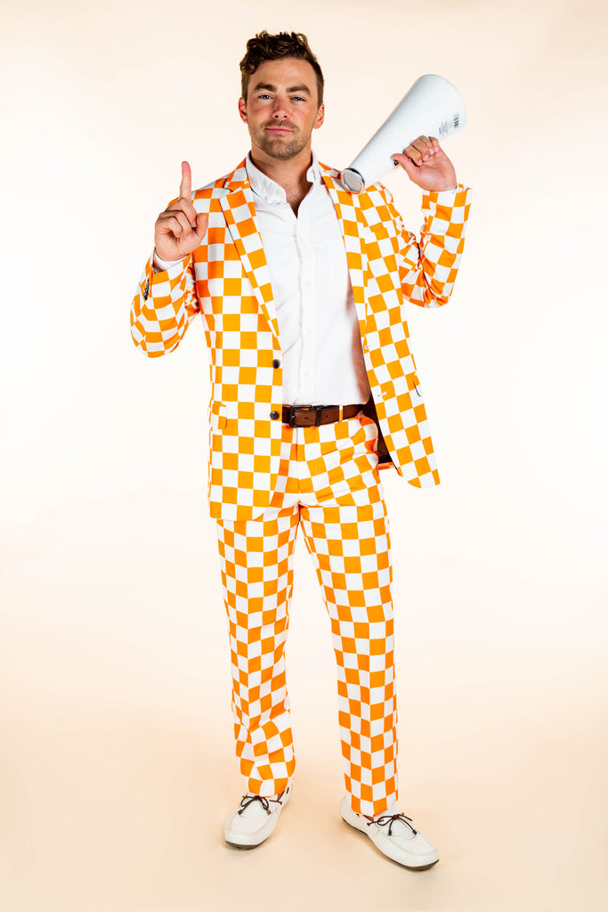 Tennessee checkered blazer