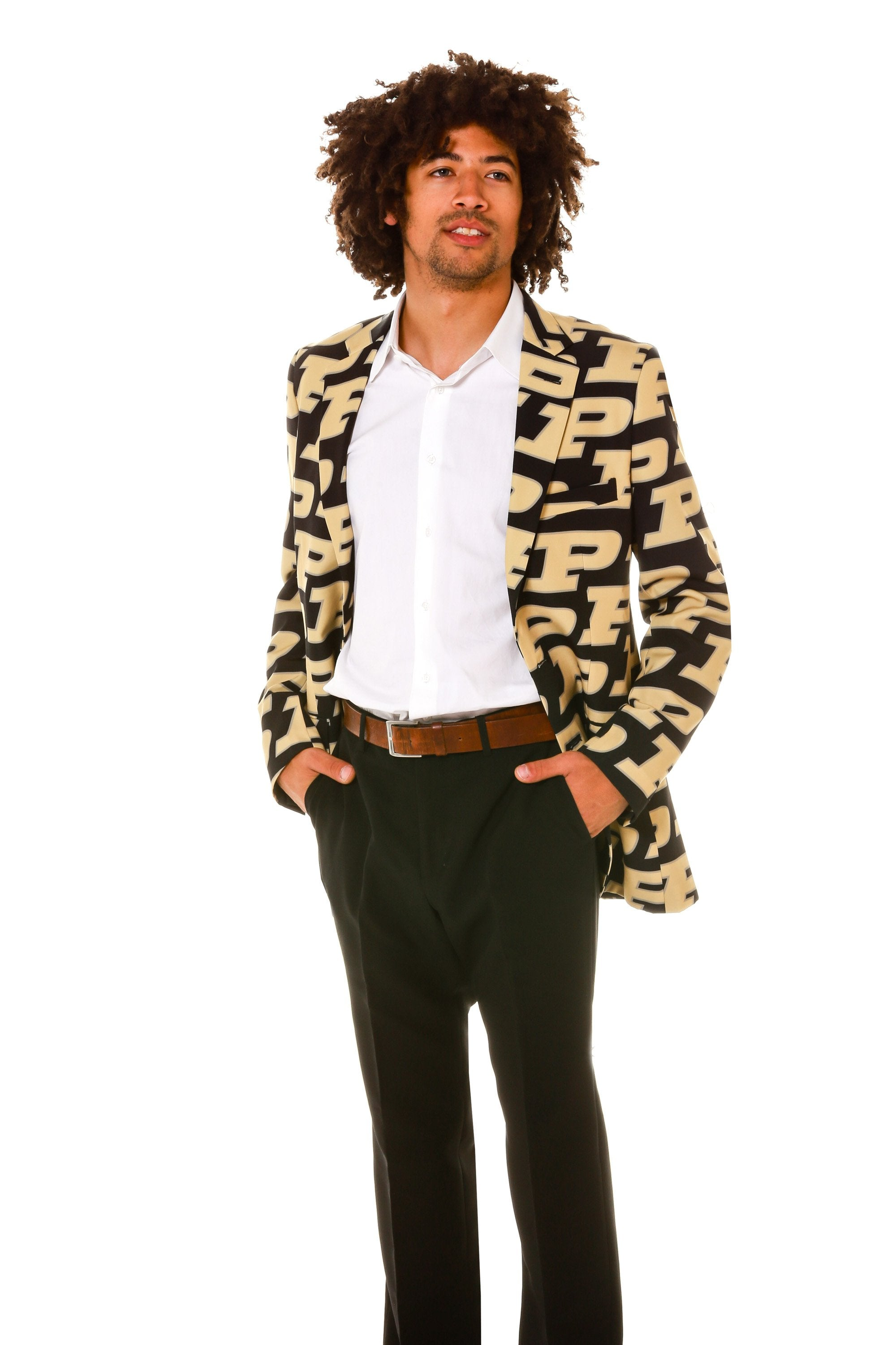 Collegiate mens blazer - Purdue University