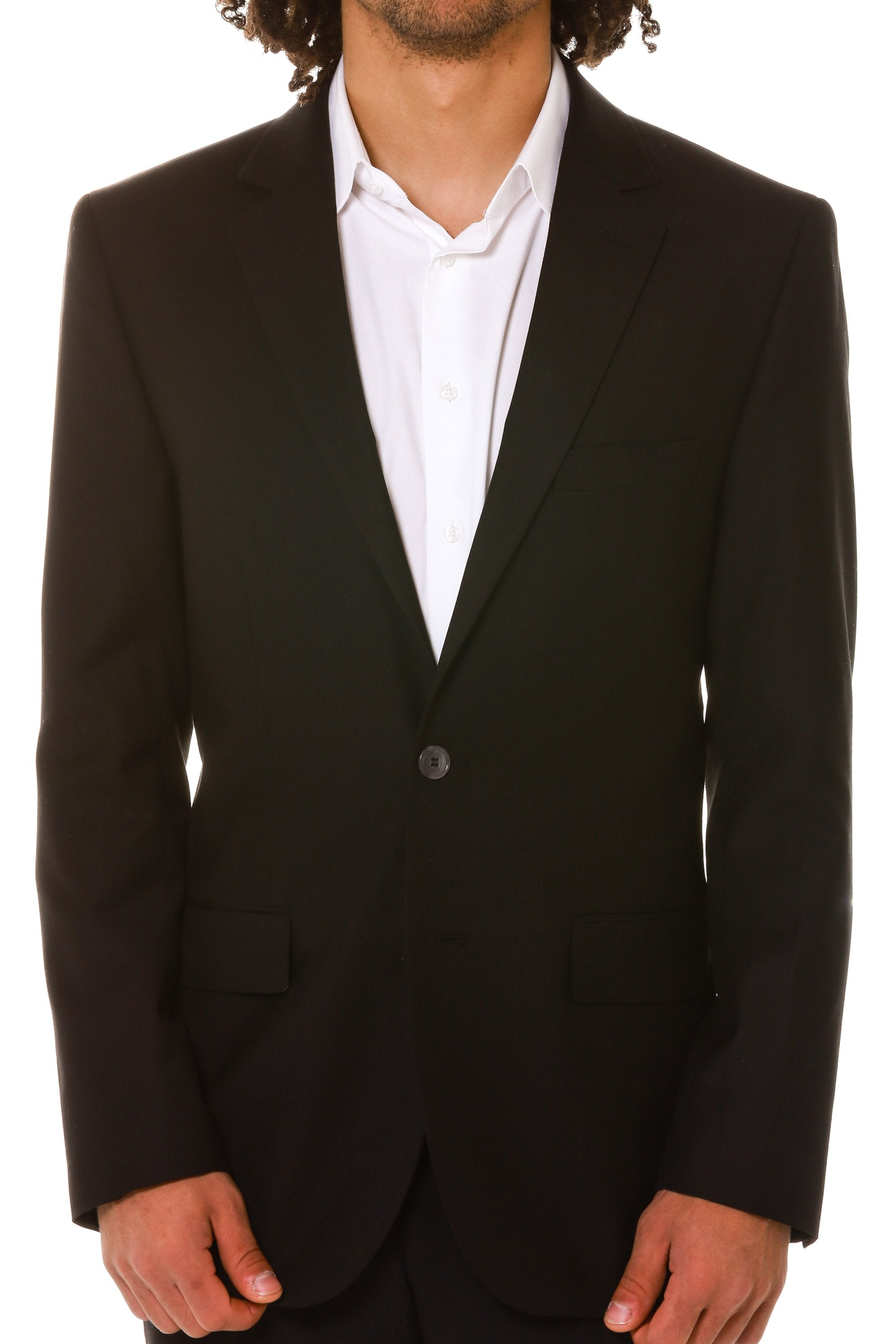 black collegiate lined blazer