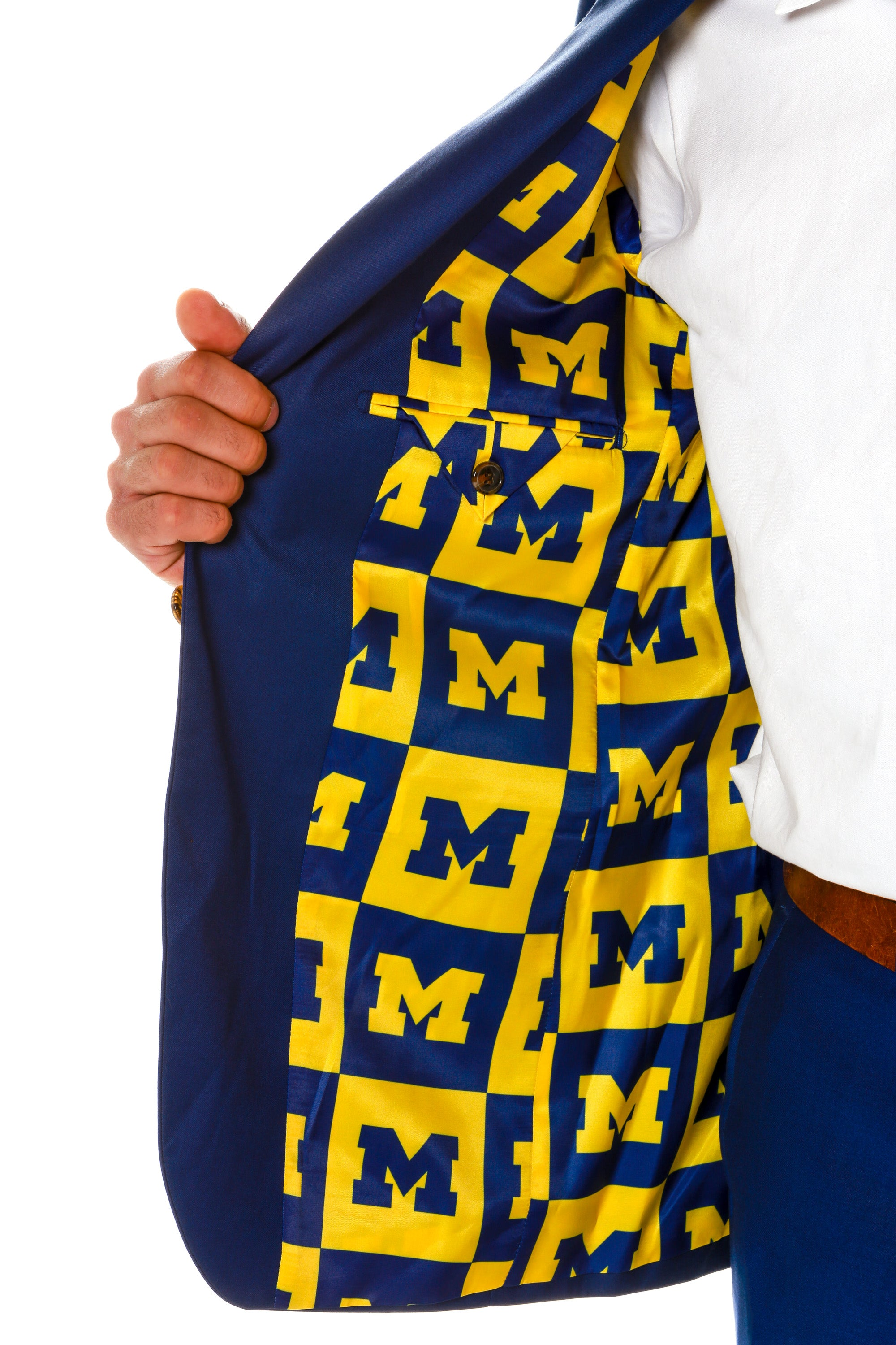 U of M mens blazer