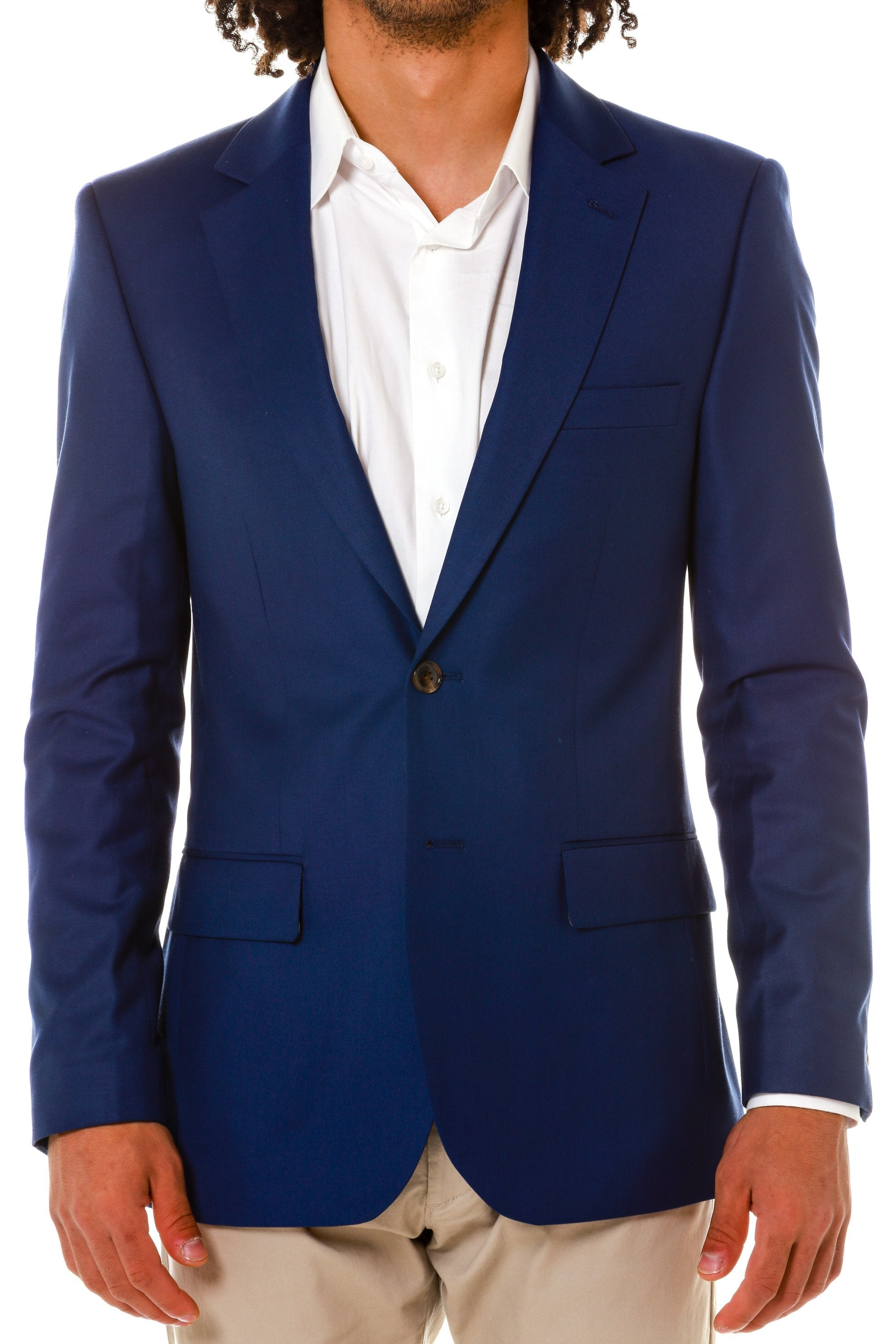 navy college blazer for men