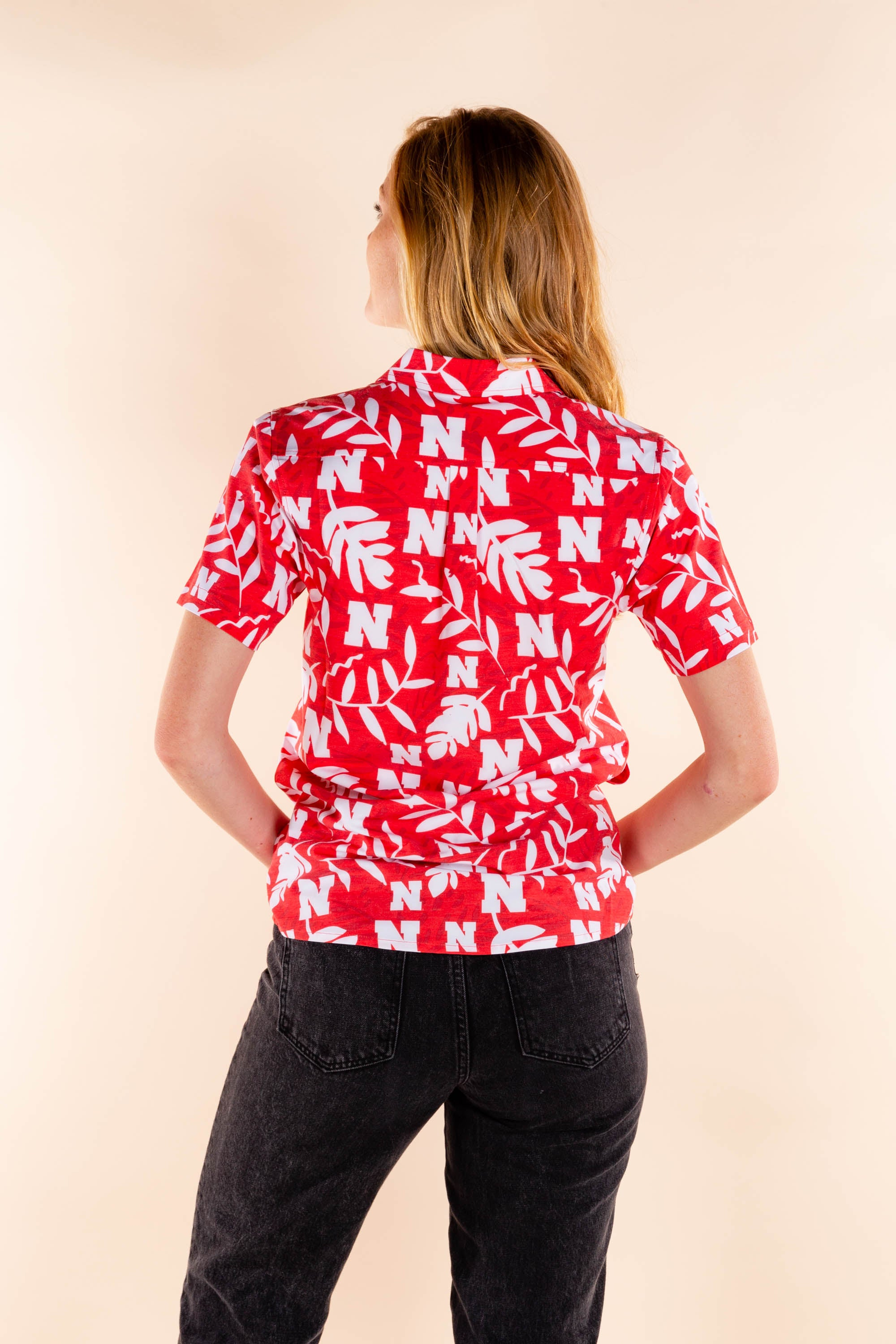 University of Nebraska Women's Tailgating Shirt
