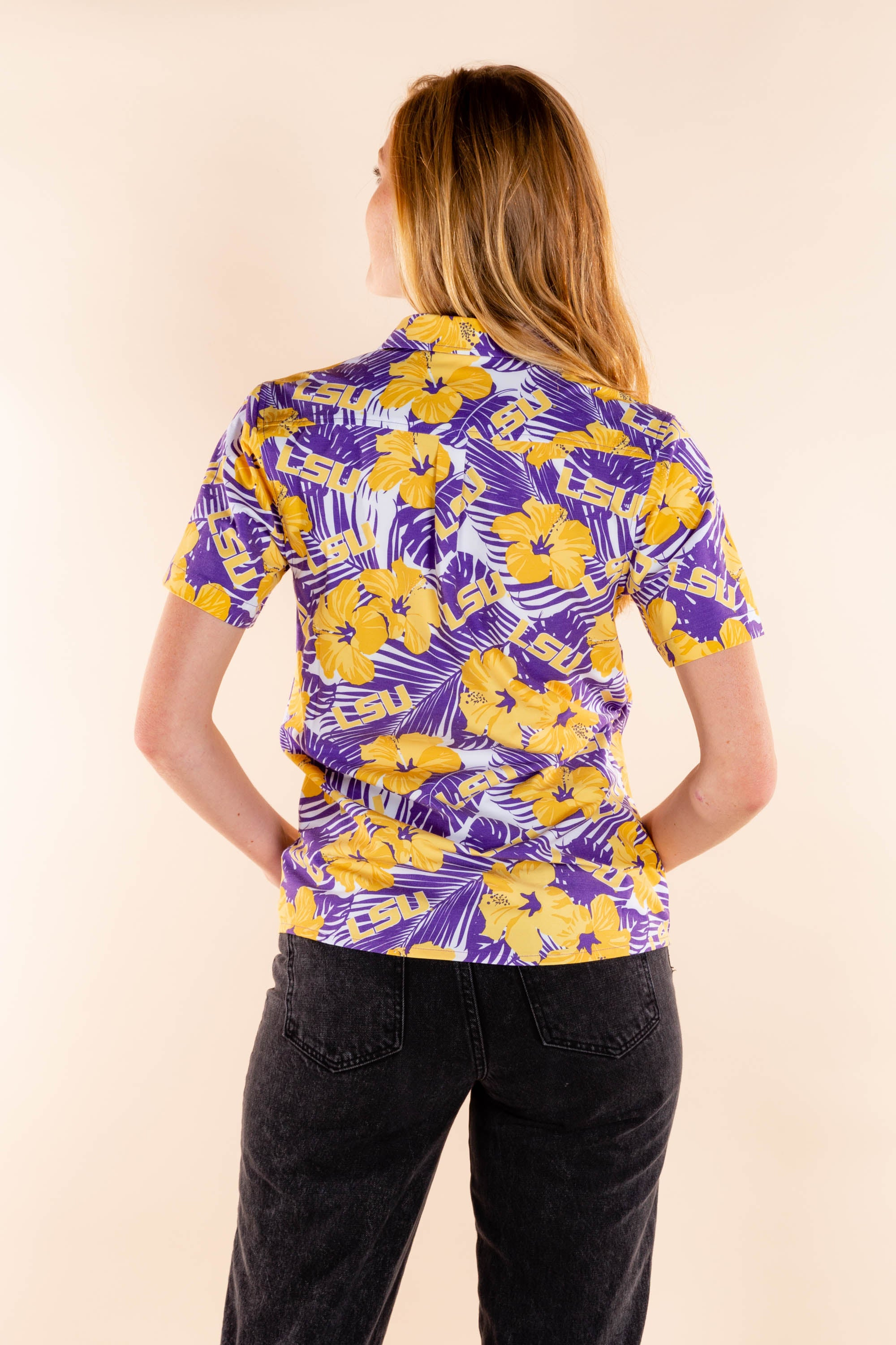Baton Rouge Boogie | Women's LSU Hawaiian Shirt