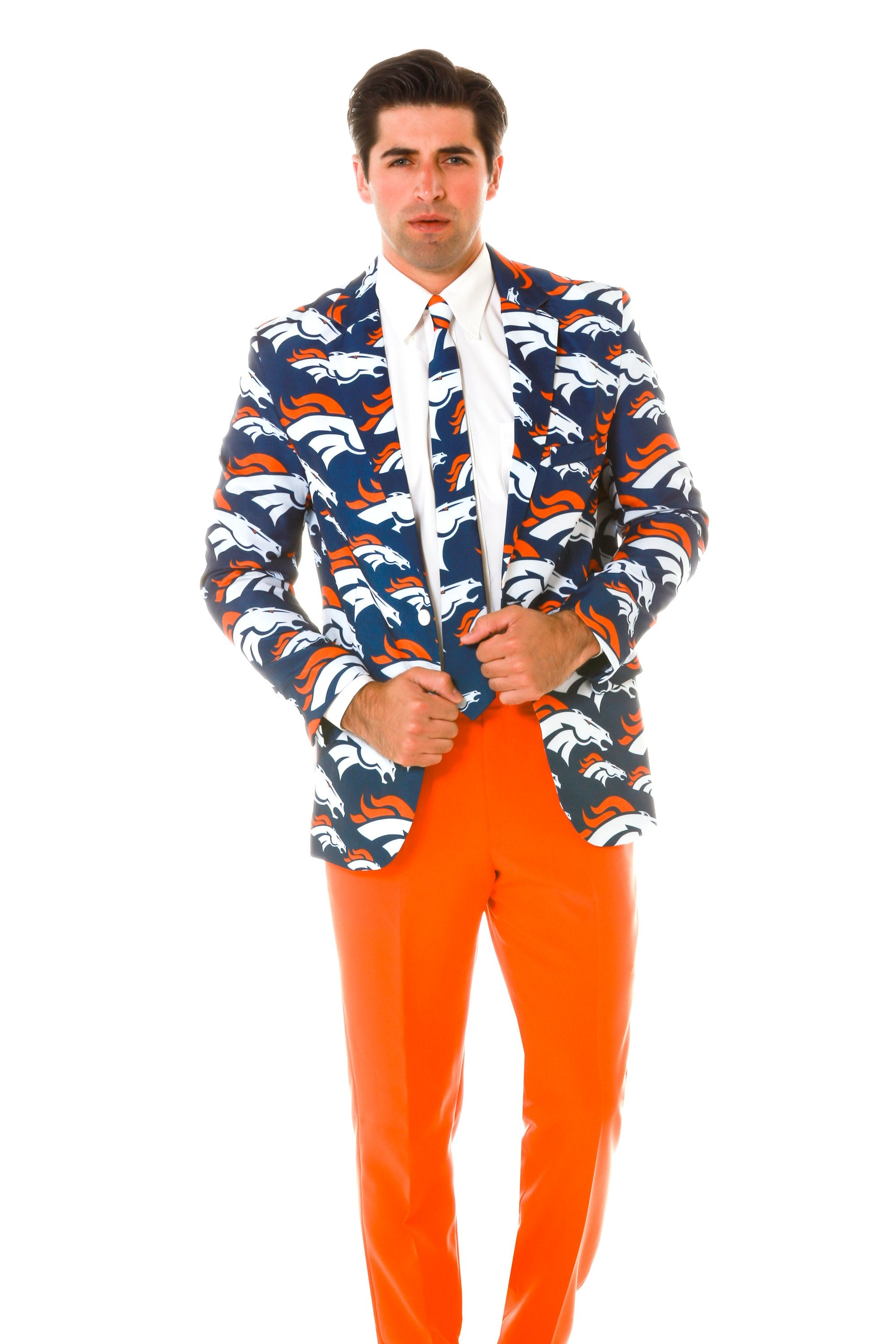 Denver Broncos Suit Jacket