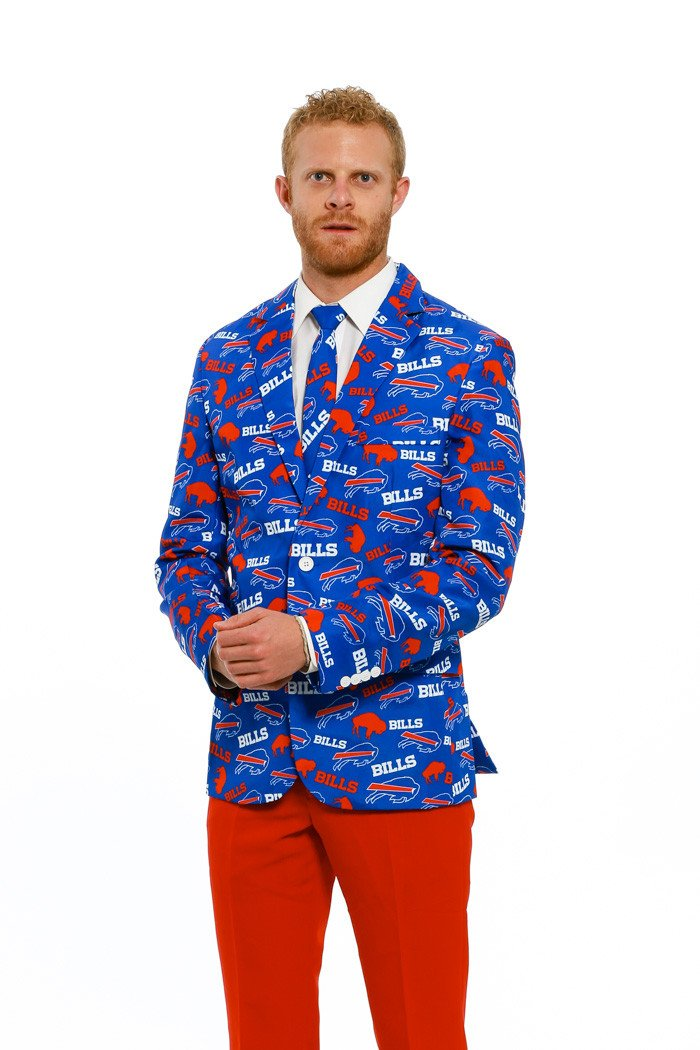 Buffalo Bills Suit Jacket