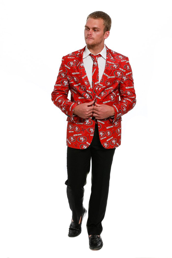 San Francisco 49ers Suit Jacket