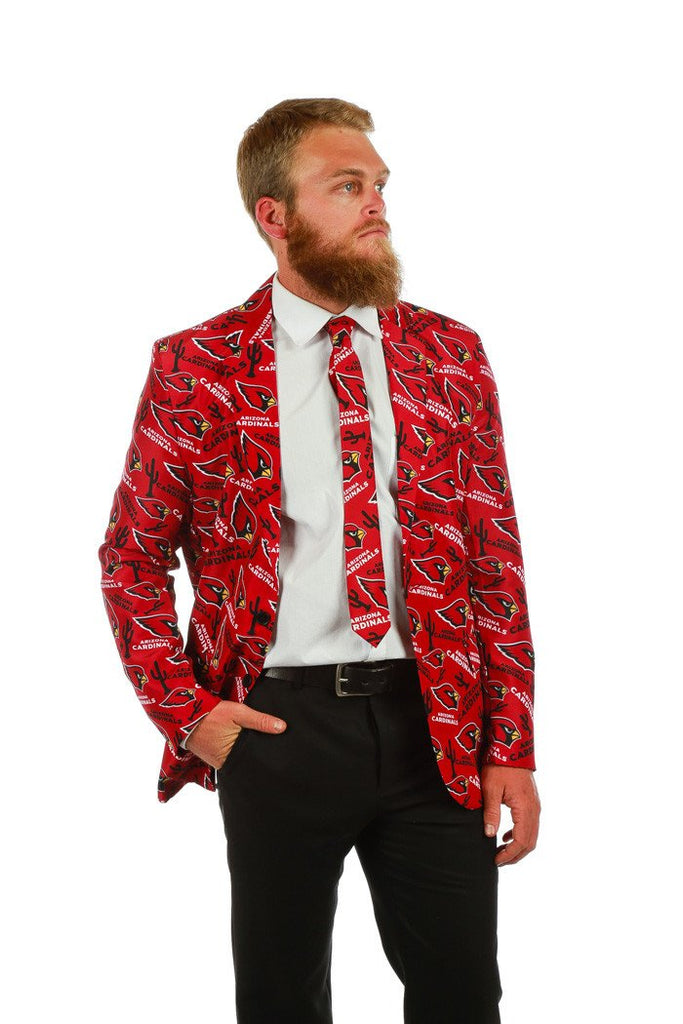 Arizona Cardinals Suit Jacket