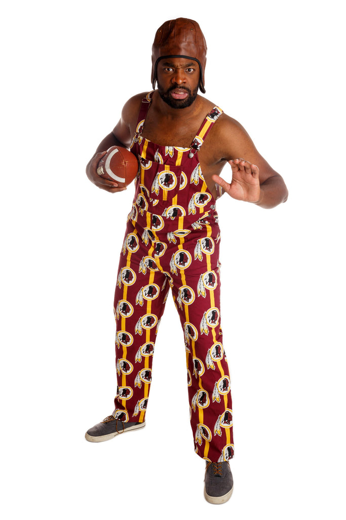 Redskins print Football overalls