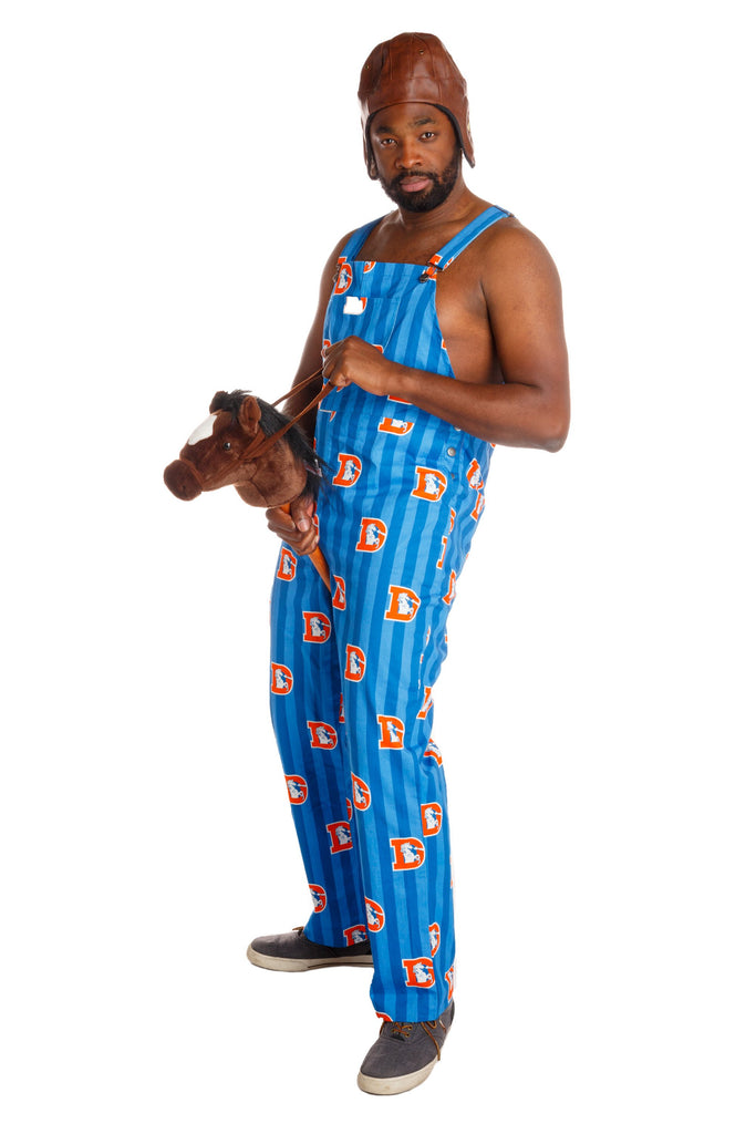 The Denver Broncos Unisex NFL Overalls
