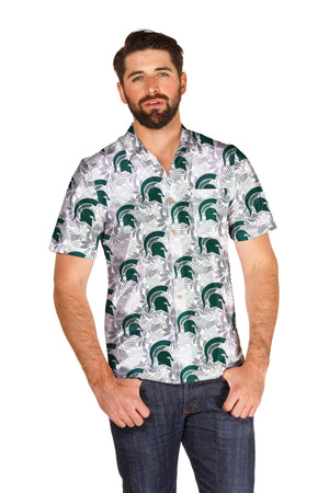 michigan state spartan hawaiian shirt
