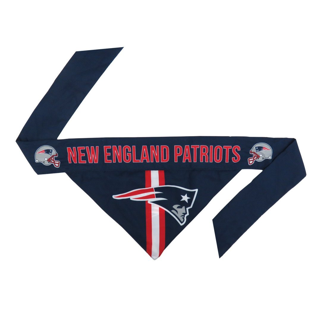 NE Patriots Football Bandana for Pets