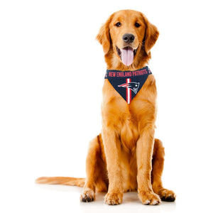 New England Patriots NFL Pet Bandana