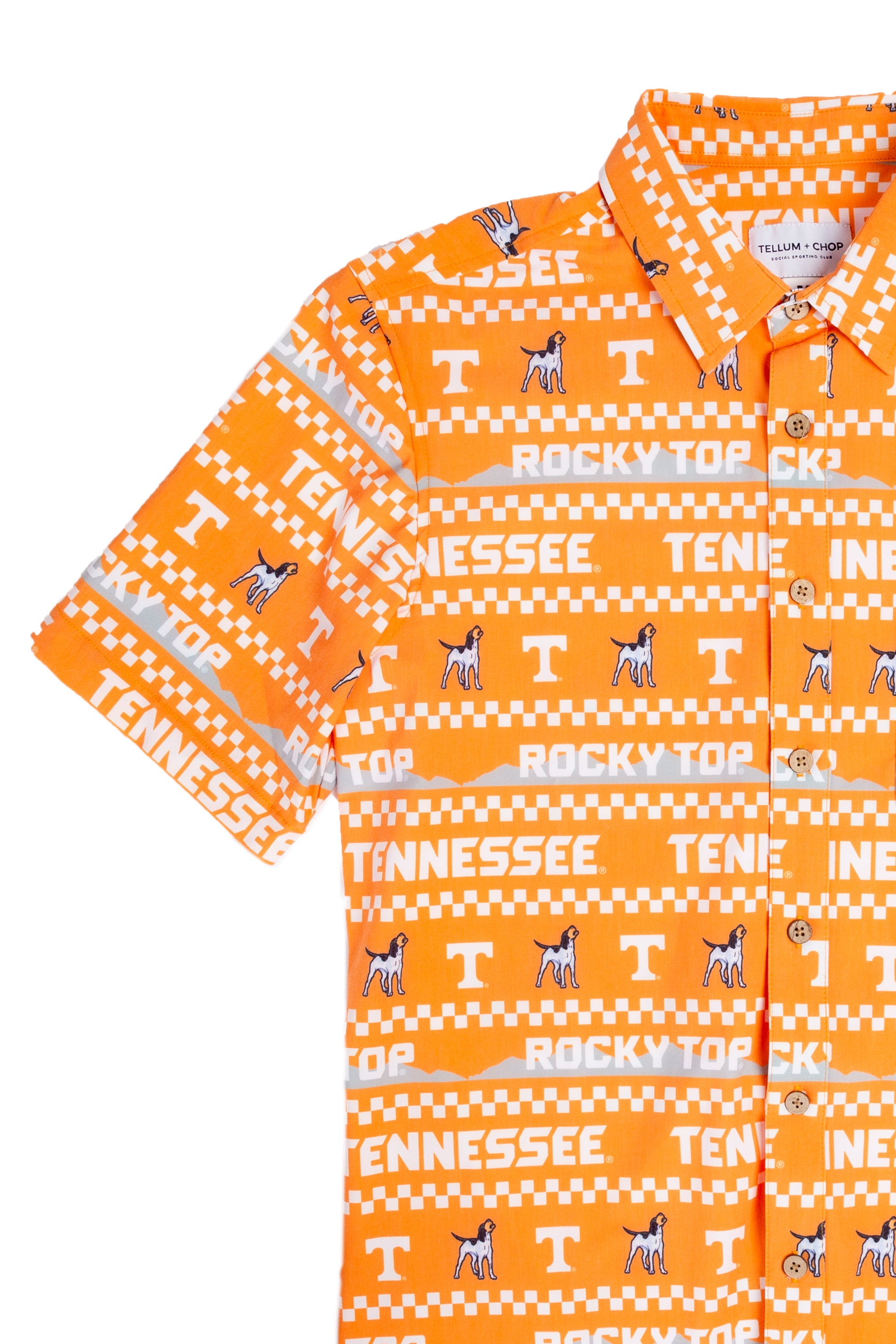 Men's Hawaiian Tennessee Game Day Shirt