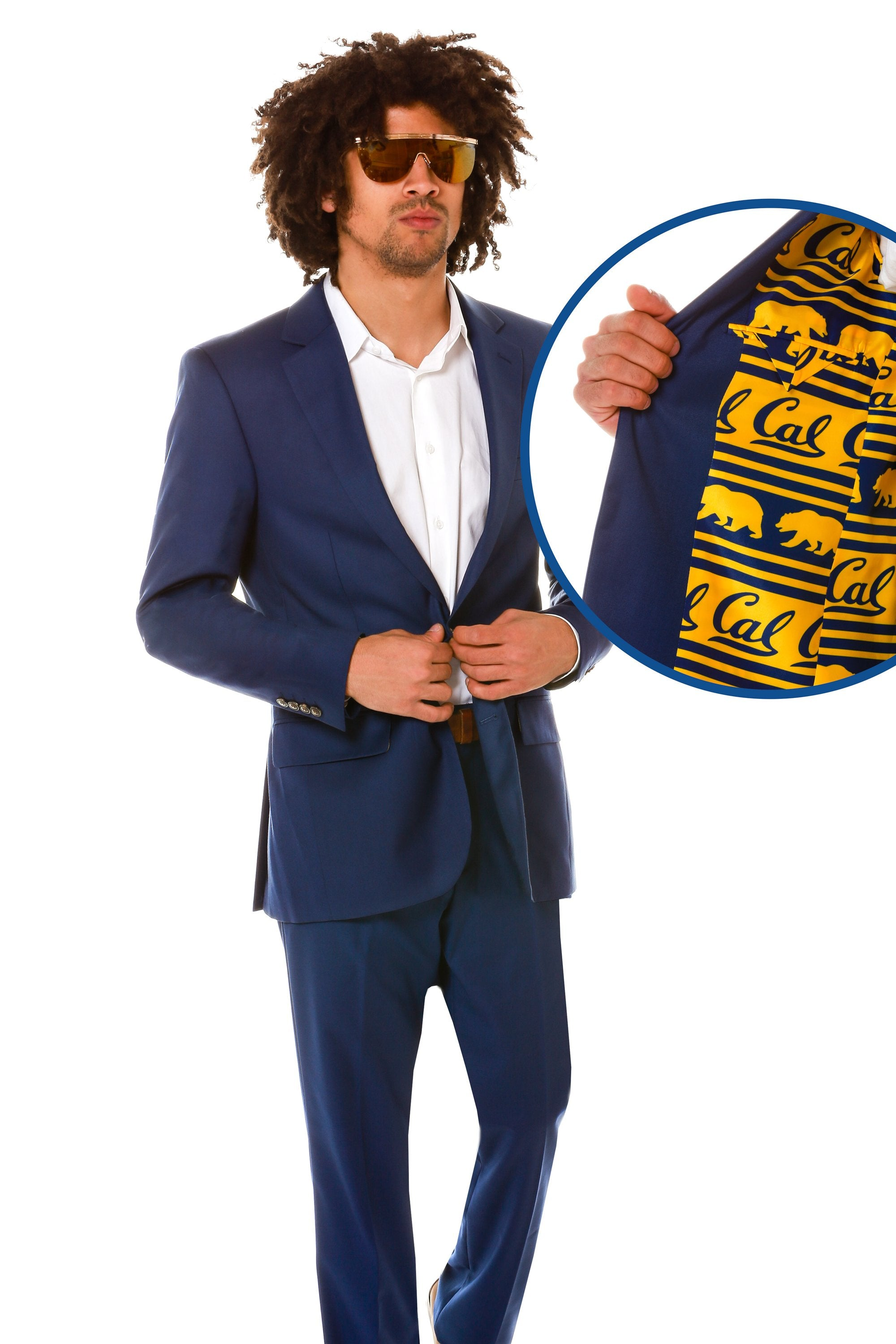 navy Cal Berkeley madison blazer