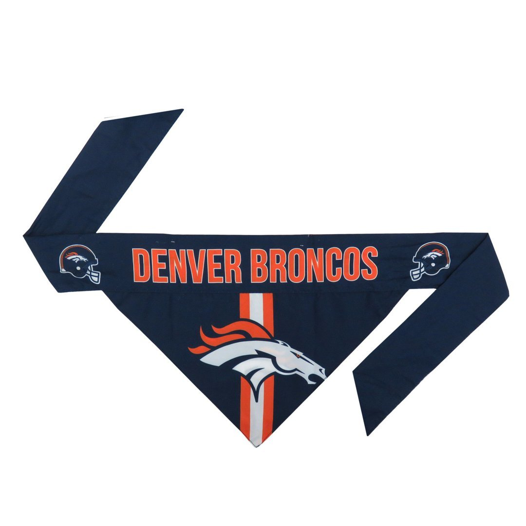 Broncos Football Bandana for Pets