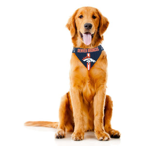 Denver Broncos NFL Pet Bandana